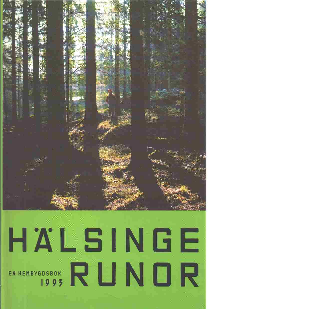 Hälsingerunor 1993 - Red.