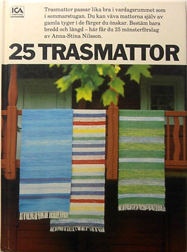 25 trasmattor - Nilsson, Anna-stina