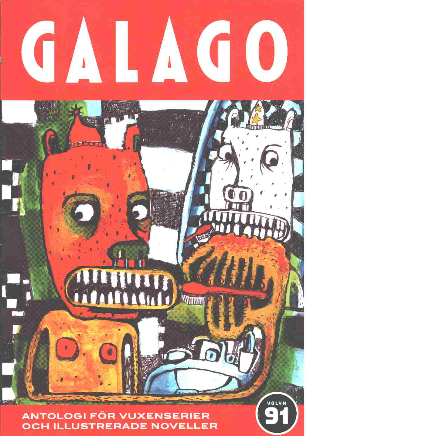 Galago volym 91 - Red.