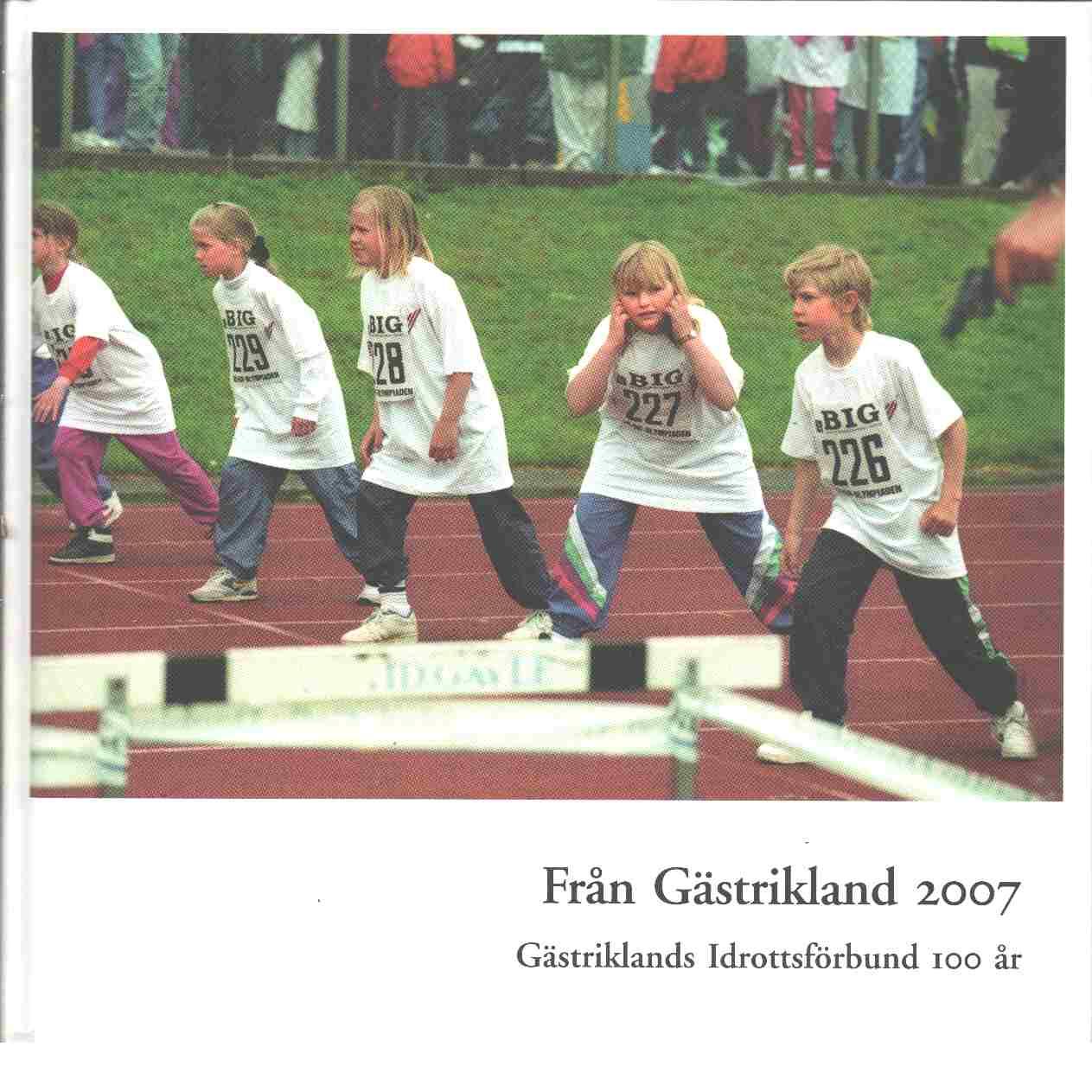 Från Gästrikland 2007 : Gästriklands kulturhistoriska förenings meddelanden - Red. Gästriklands kulturhistoriska förening