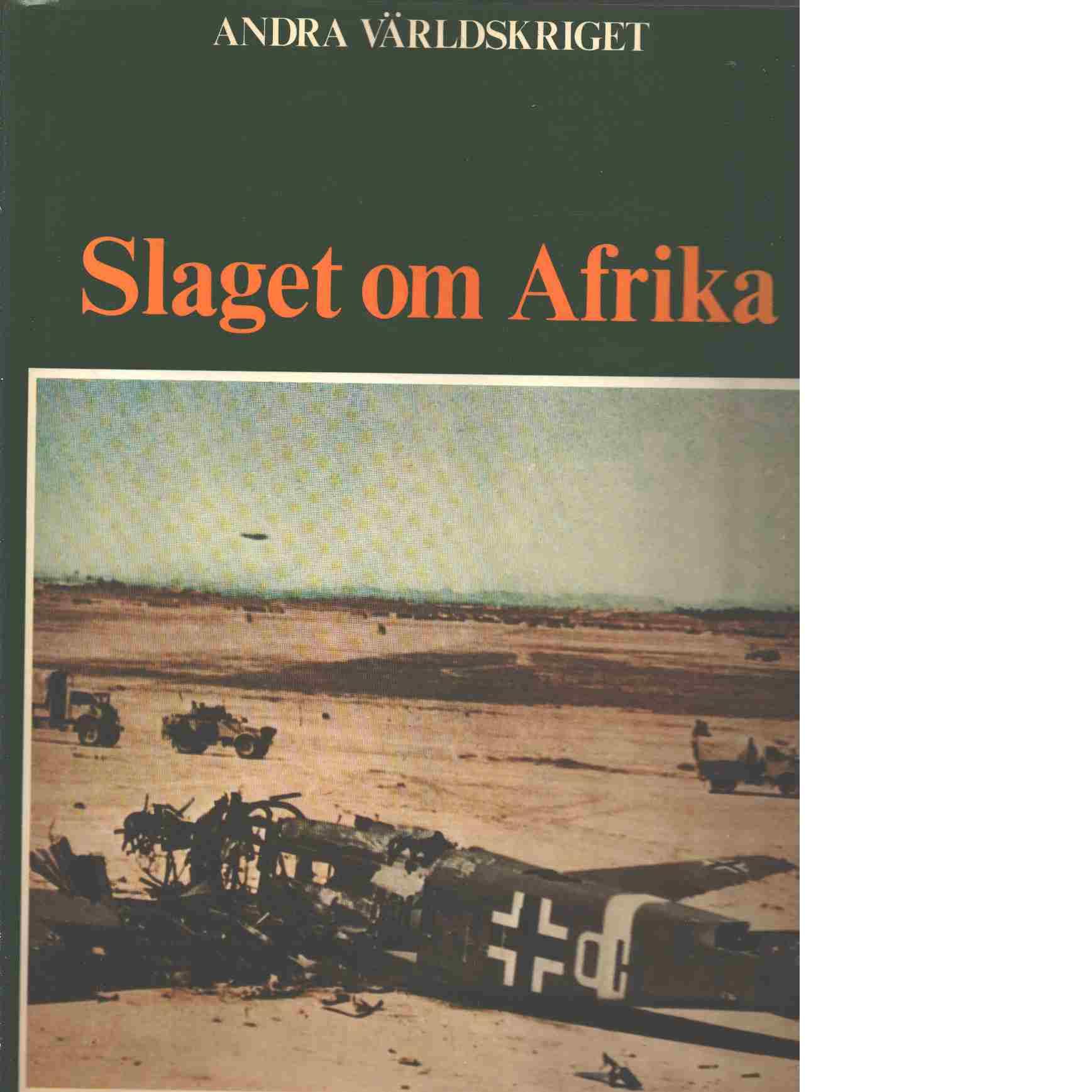 Slaget om Afrika - Bauer, Eddy