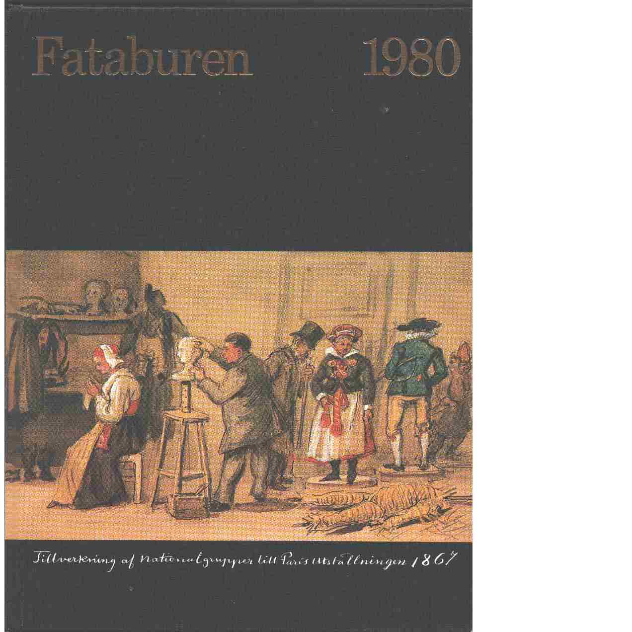 Fataburen : Nordiska museets och Skansens årsbok. 1980 - Red.