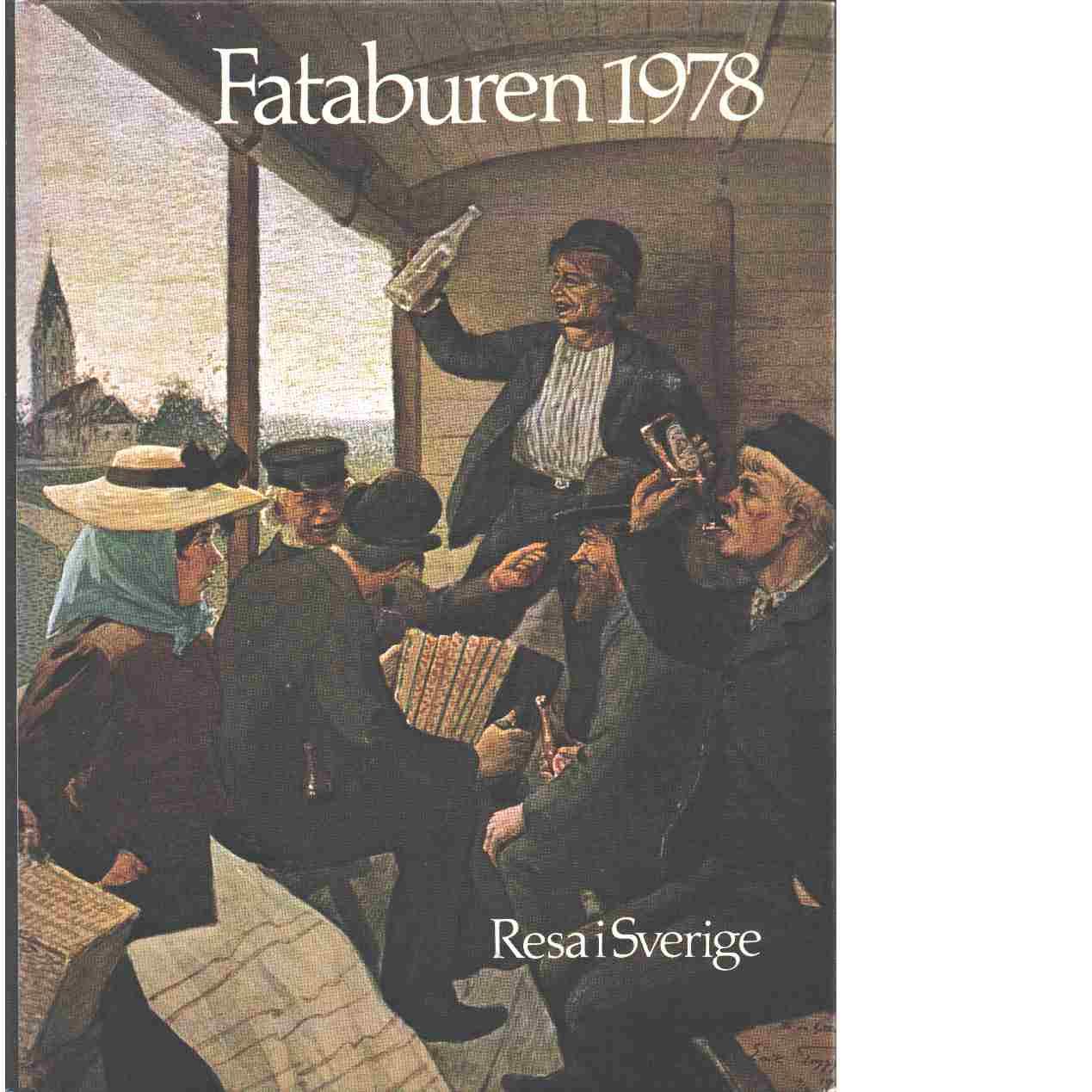 Fataburen : Nordiska museets och Skansens årsbok. 1978 - Red.