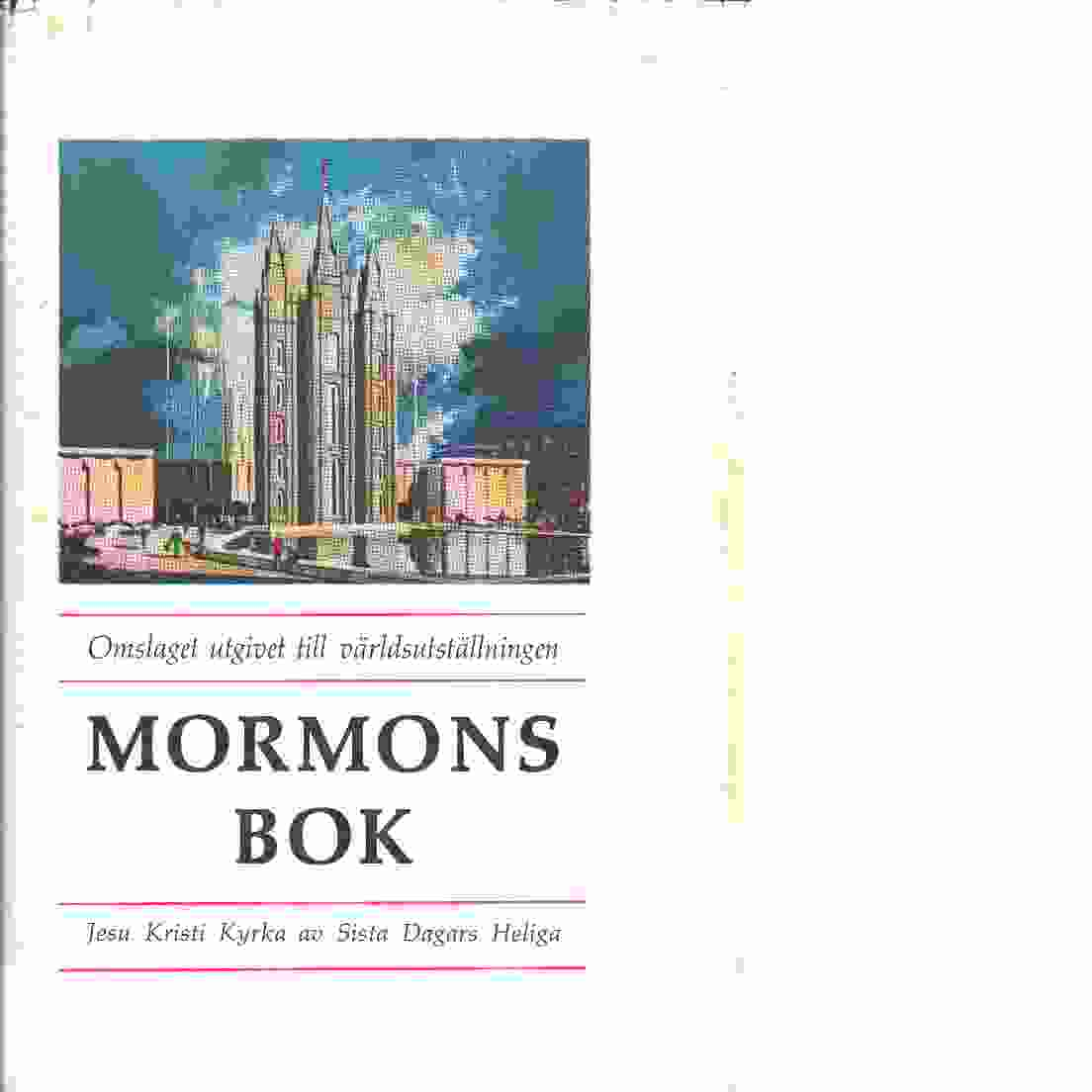 Mormons bok - Red. Smith, Joseph