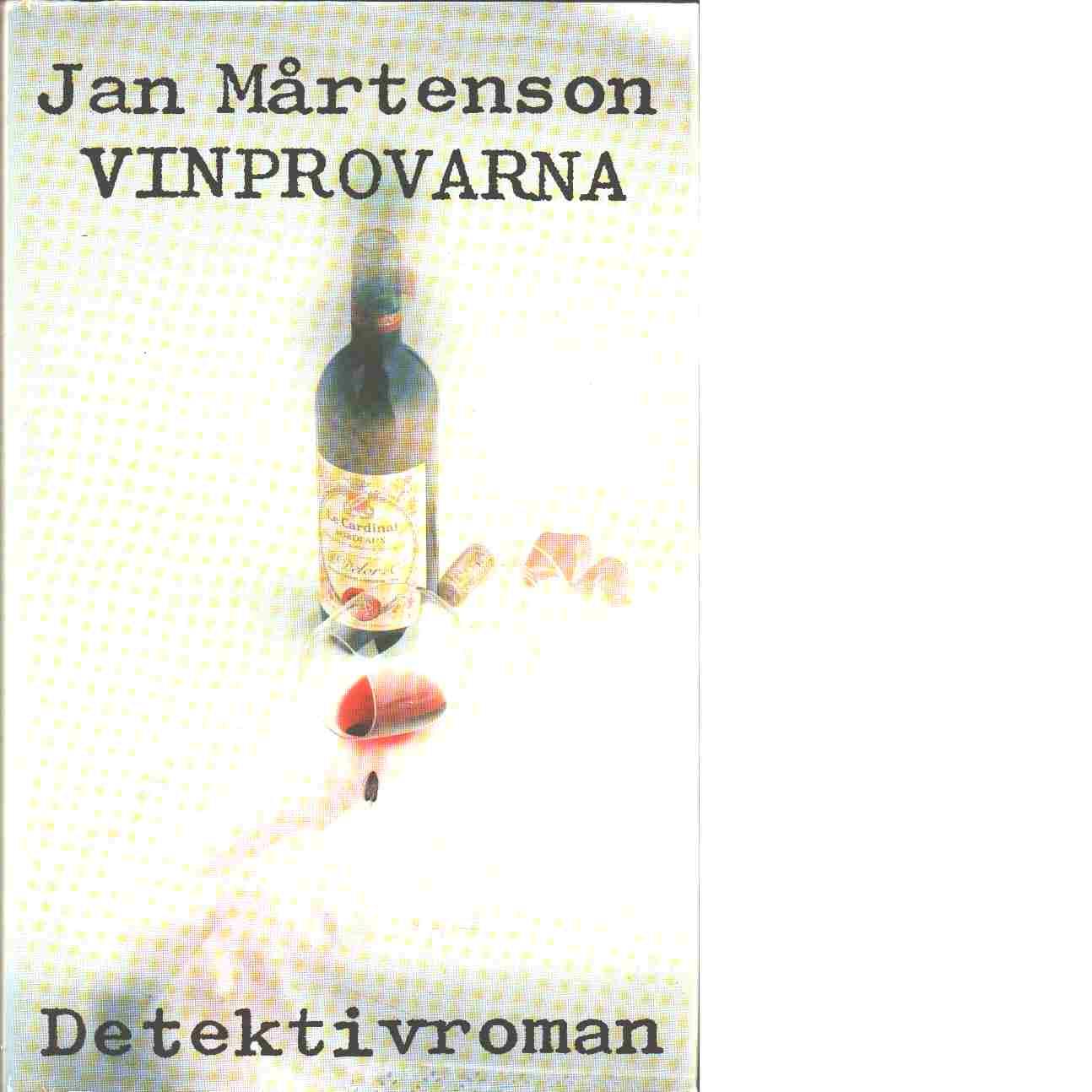 Vinprovarna - Mårtenson, Jan