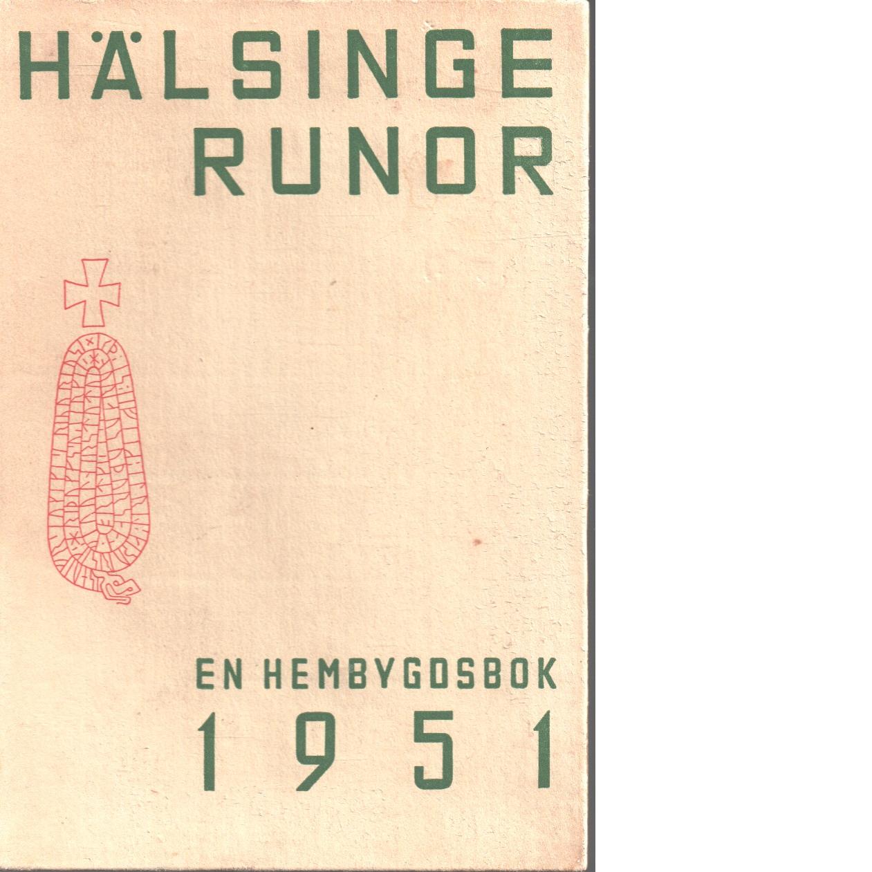 Hälsingerunor 1951 - Red.