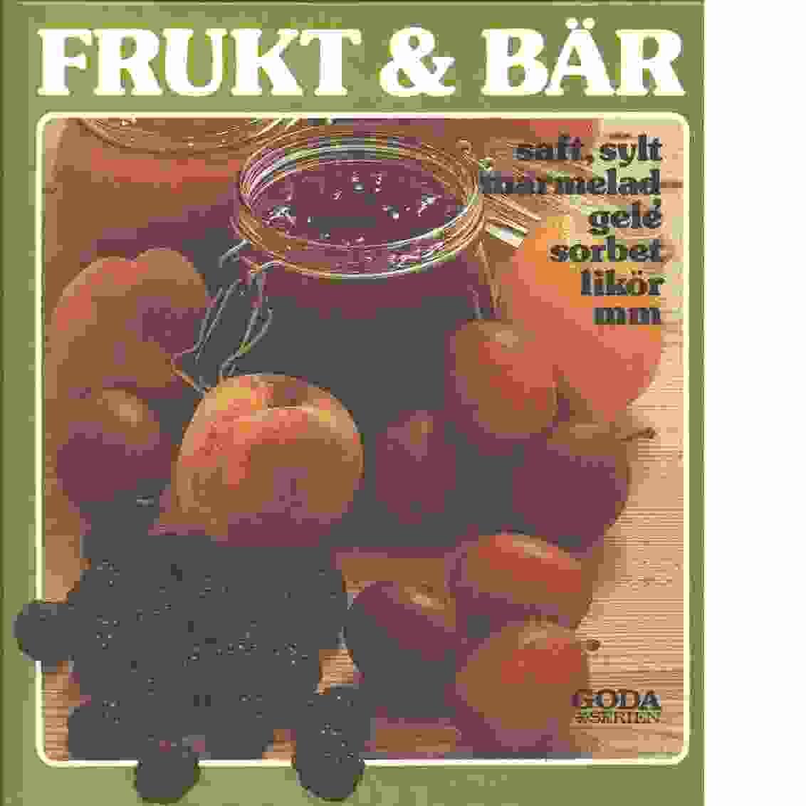 Frukt & bär - Red.
