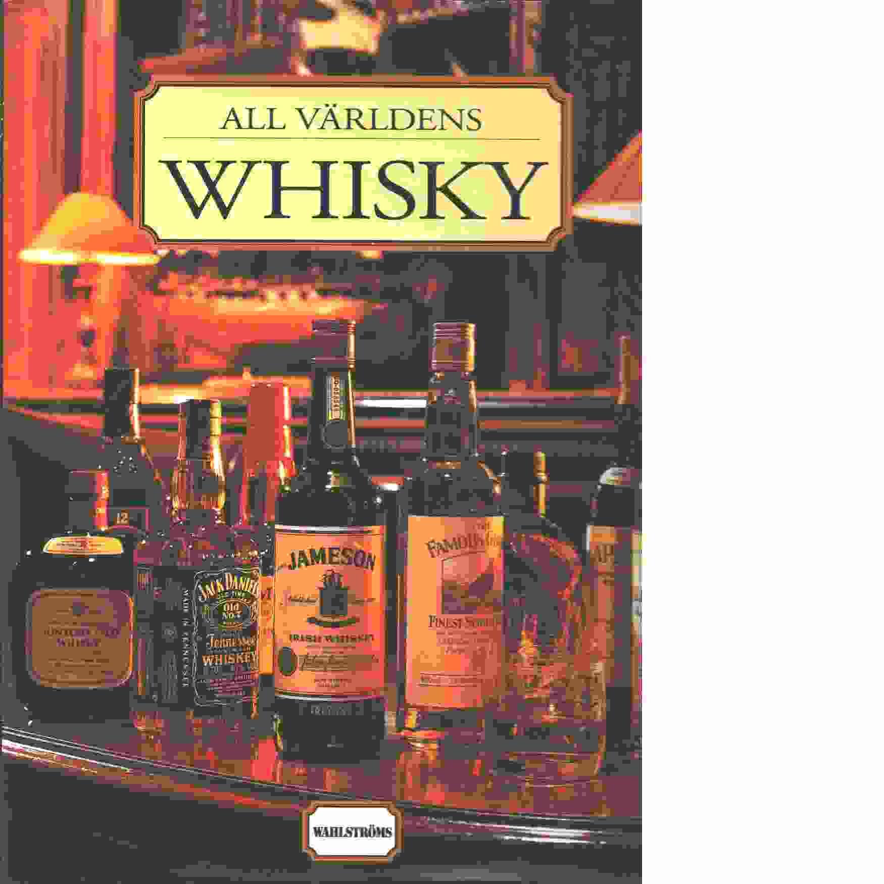 All världens whisky - Delos, Gilbert