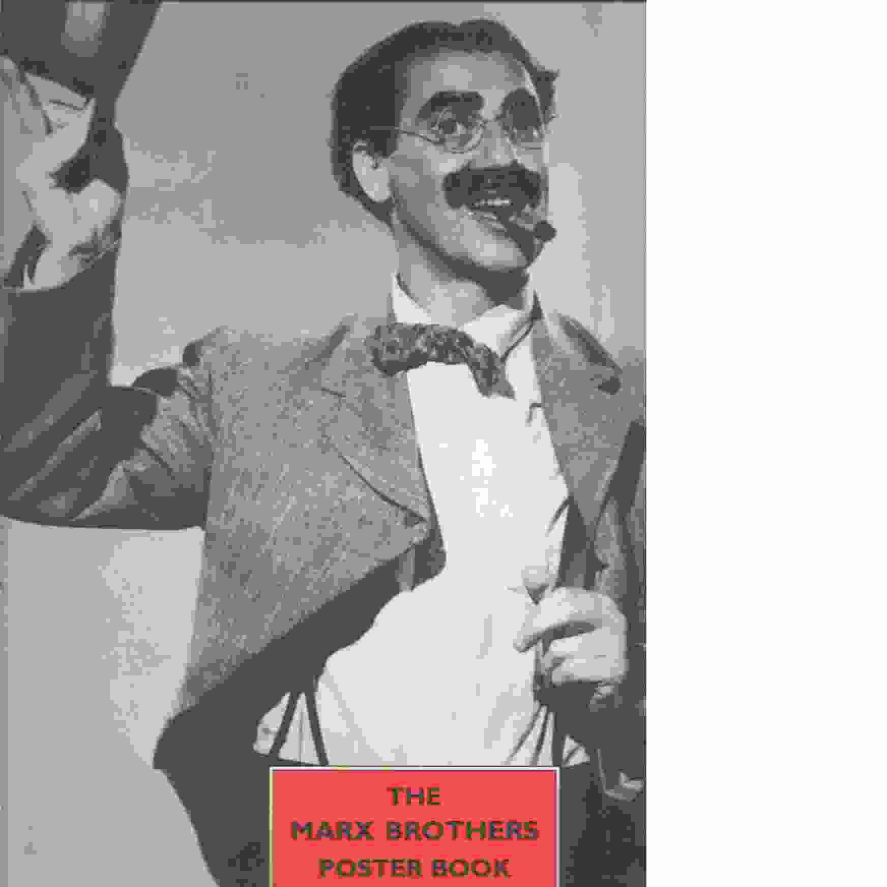 The Marx Brothers Poster Book - Red.