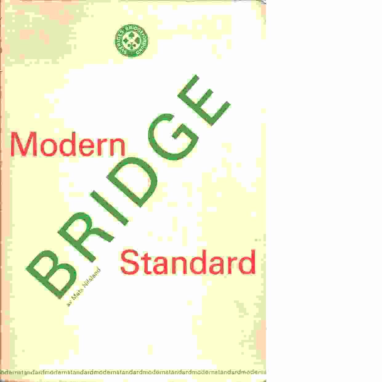 Modern standard - Nilsland, Mats