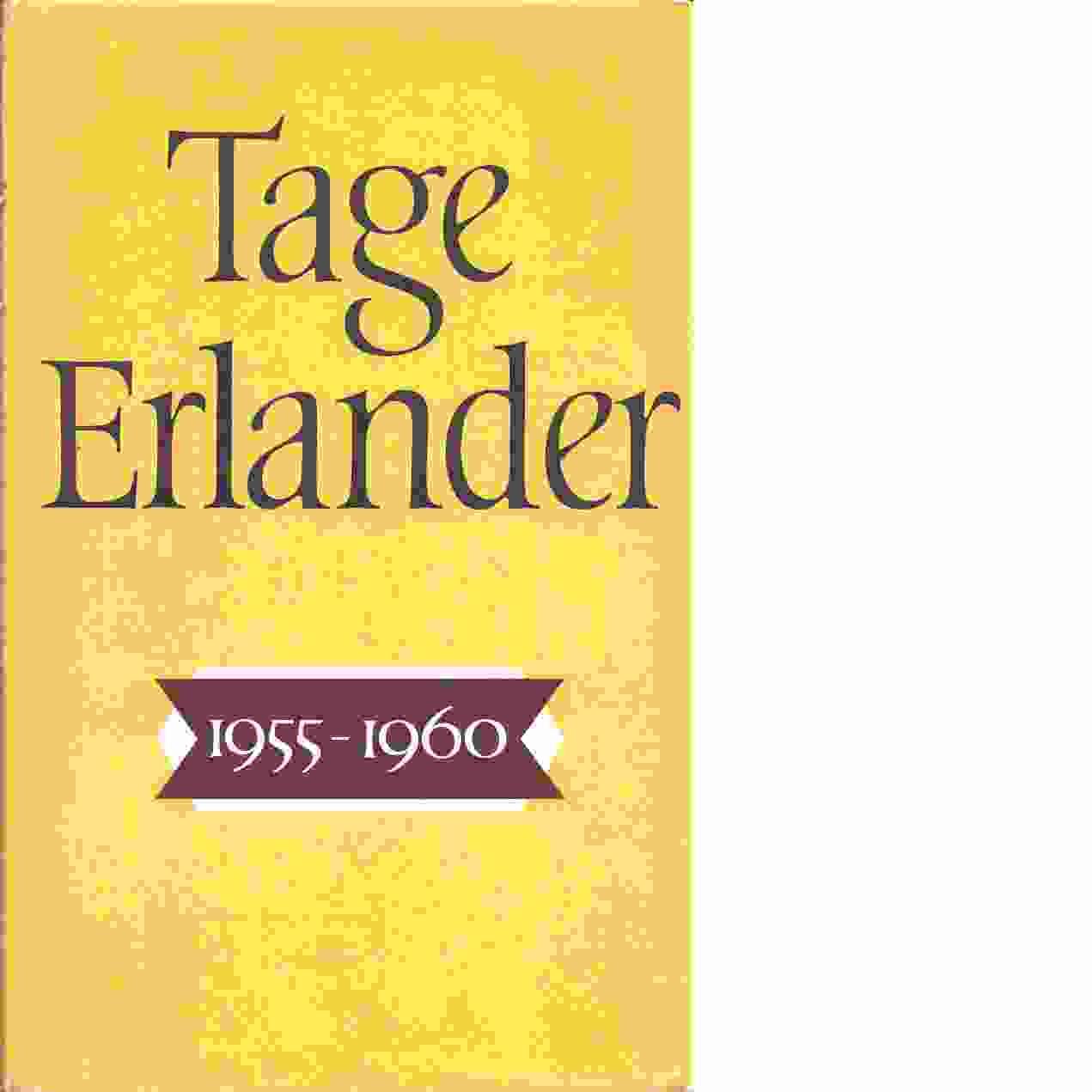 Tage Erlander. 1955-1960 - Erlander, Tage