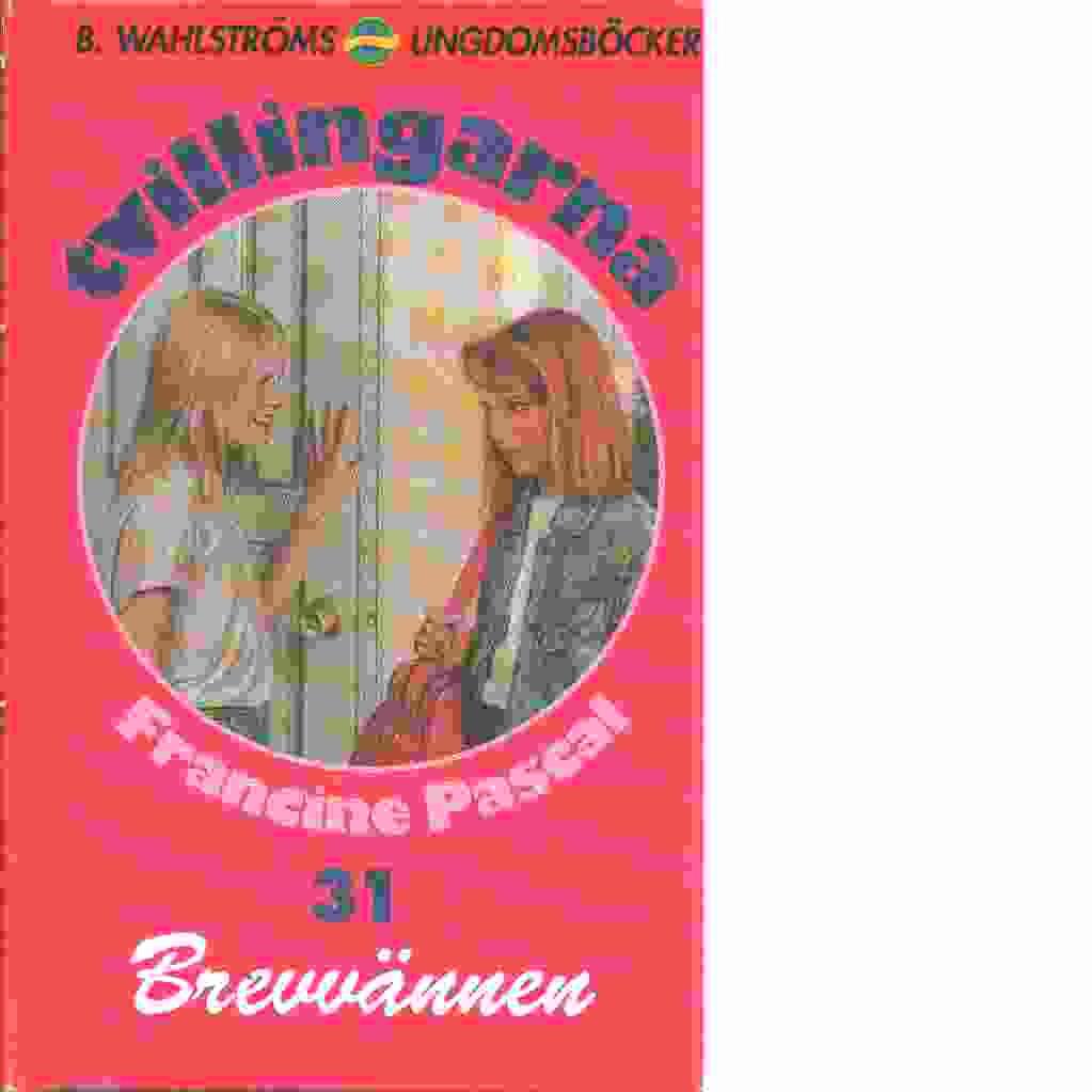 Tvillingarna : Brevvännen - Pascal, Francine