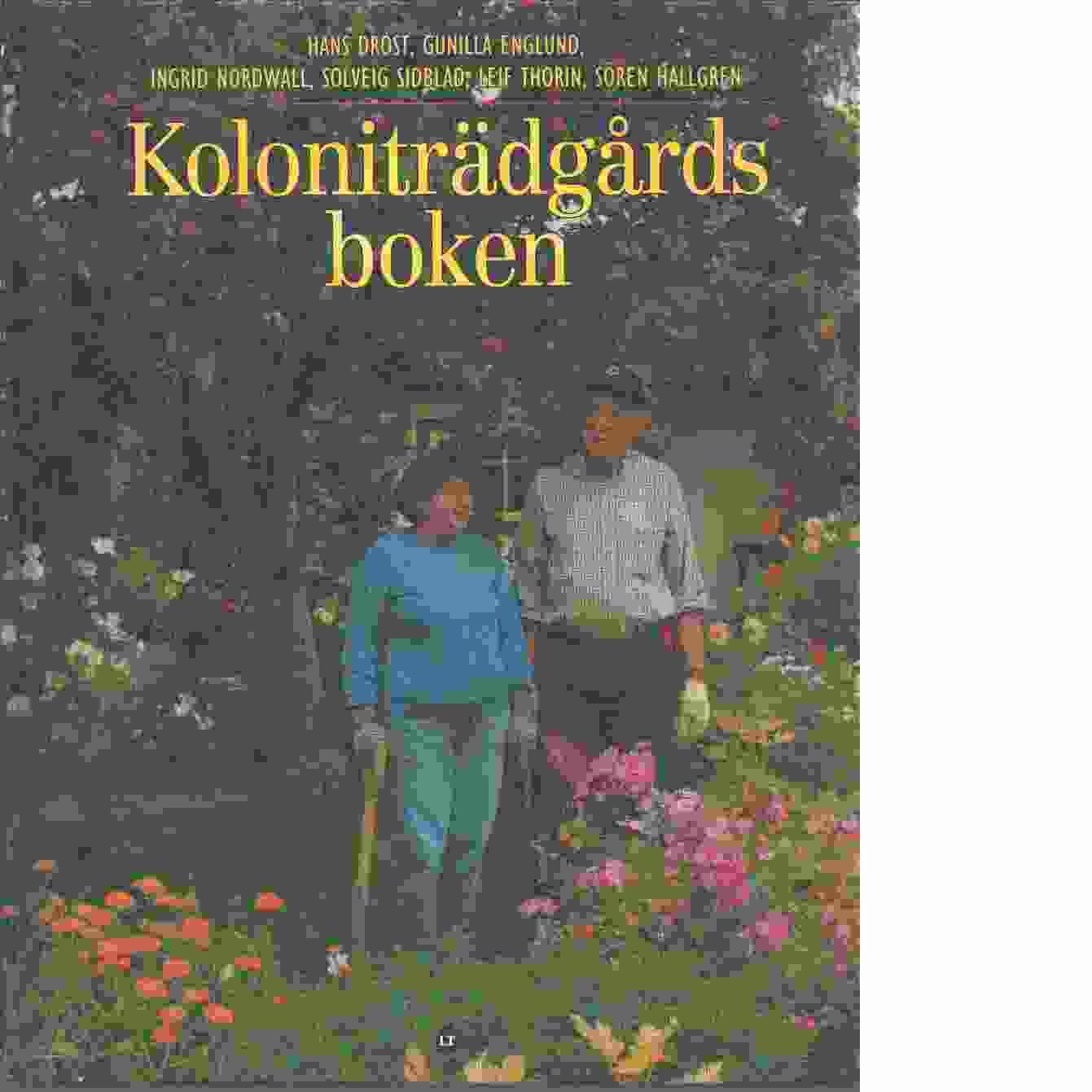 Koloniträdgårdsboken - Red.