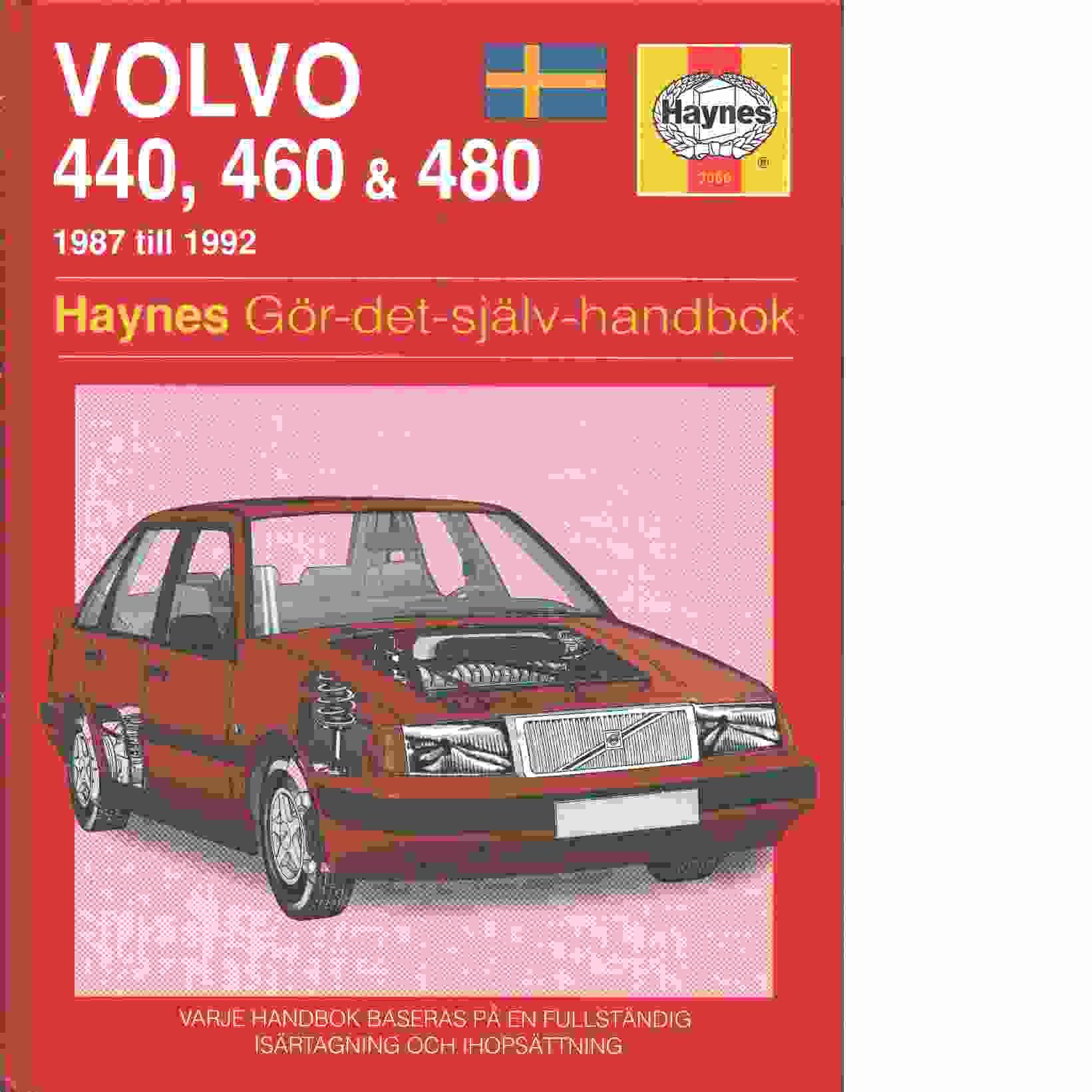 Volvo 400-serien : gör-det-själv-handbok - Brown, Colin