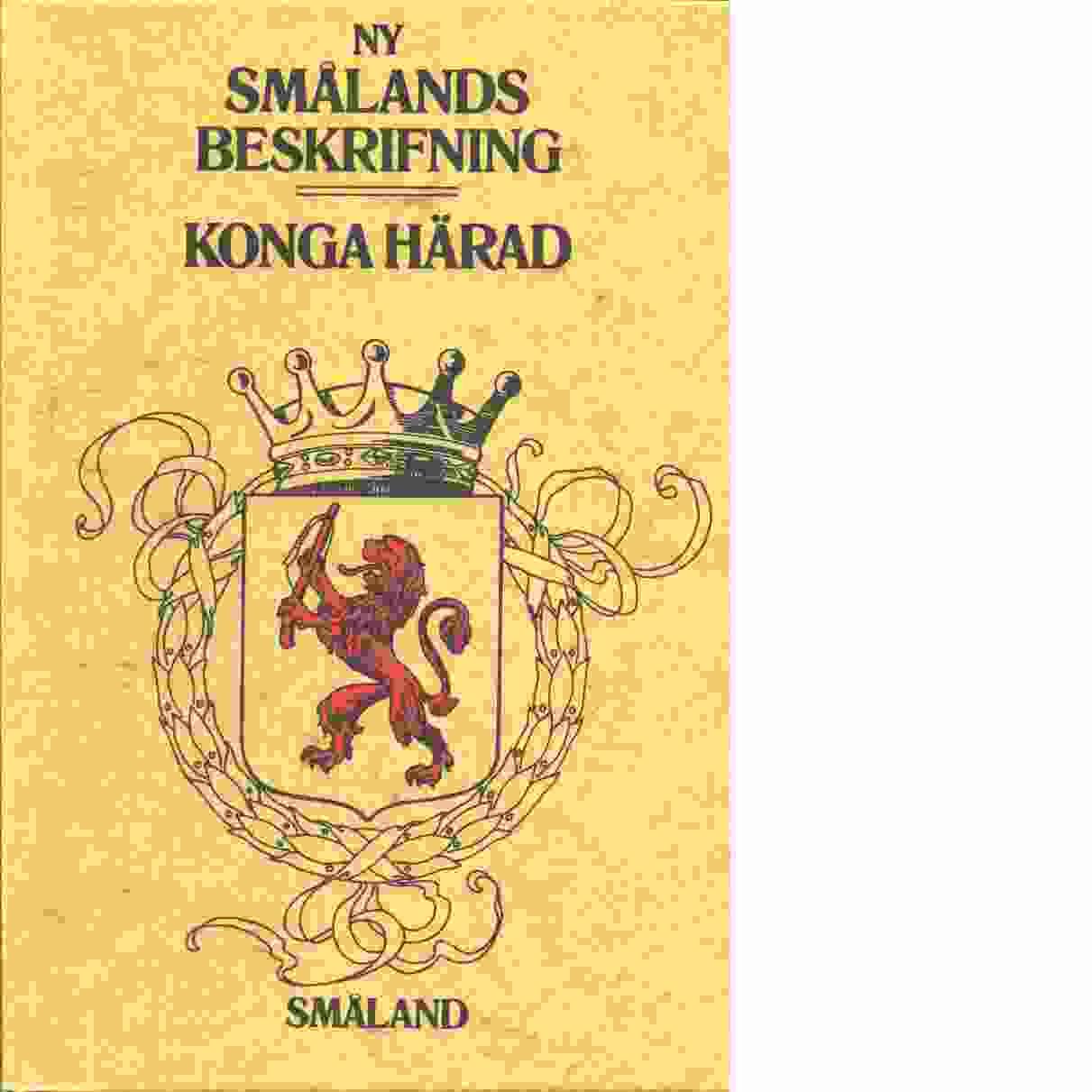 Konga härad - Rosengren, Josef