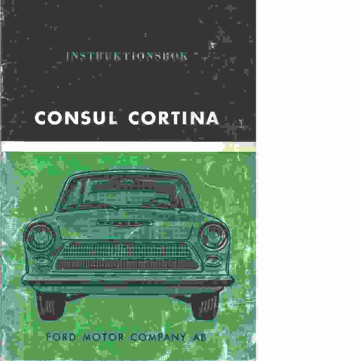Consul Cortina - Red.