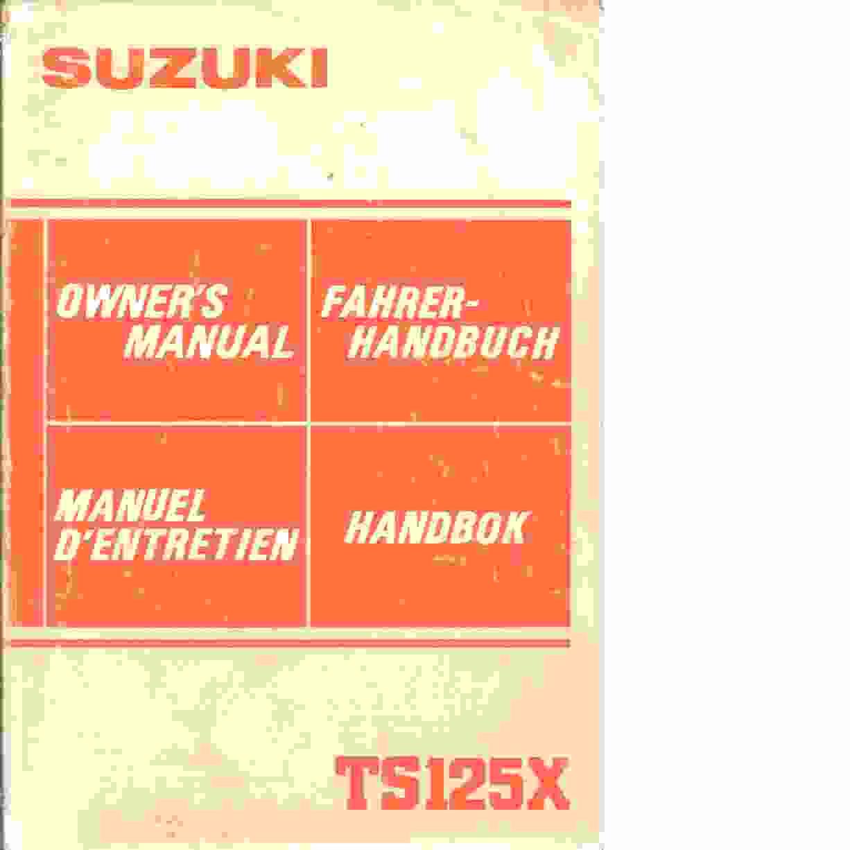 Suzuki handbok - Red.