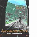 Järnvägsminnen 4. [Minnen från Malmbanan] - Engström, Curt W.