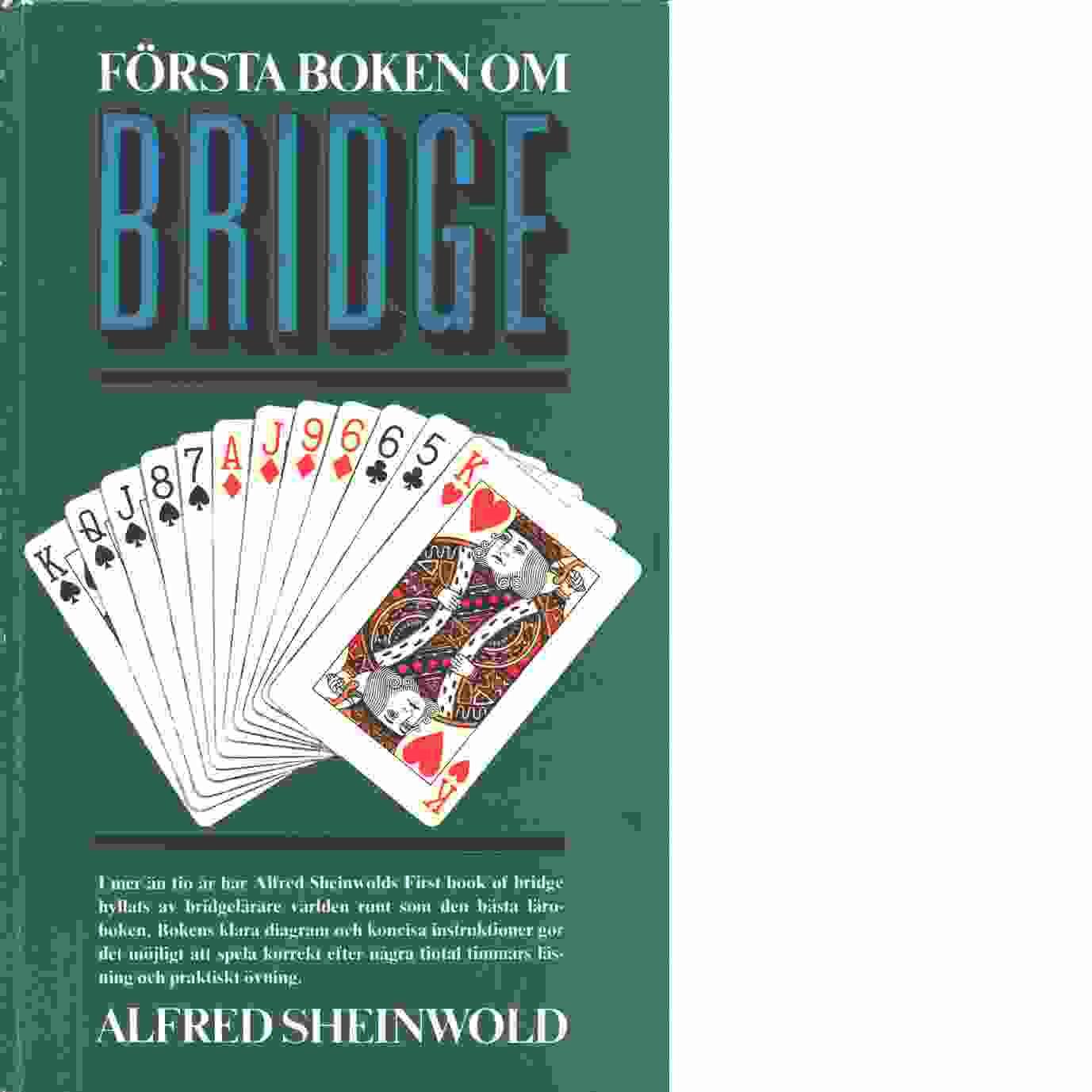 Första boken om bridge - Sheinwold, Alfred