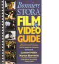 Bonniers stora film- & videoguide - Red. Maltin, Leonard