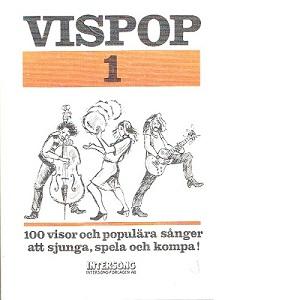 Vispop 1 [Musiktryck] - Hahne, Ingemar