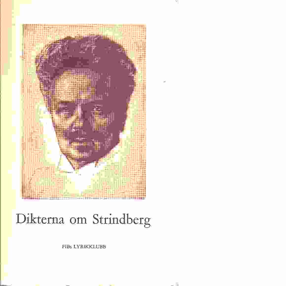 Dikterna om Strindberg - Red. Svensson, Harald