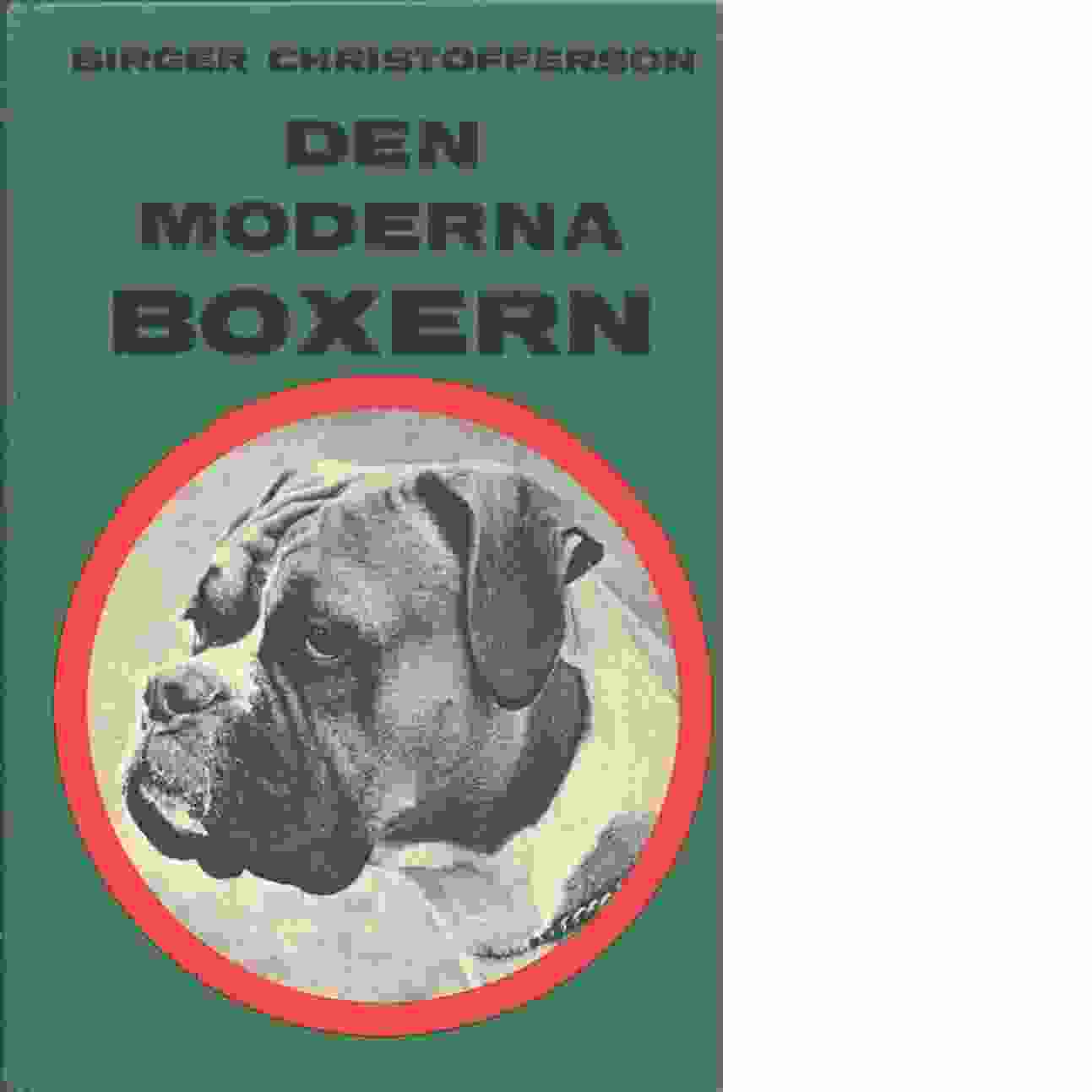 Den moderna boxern. - Christofferson, Birger