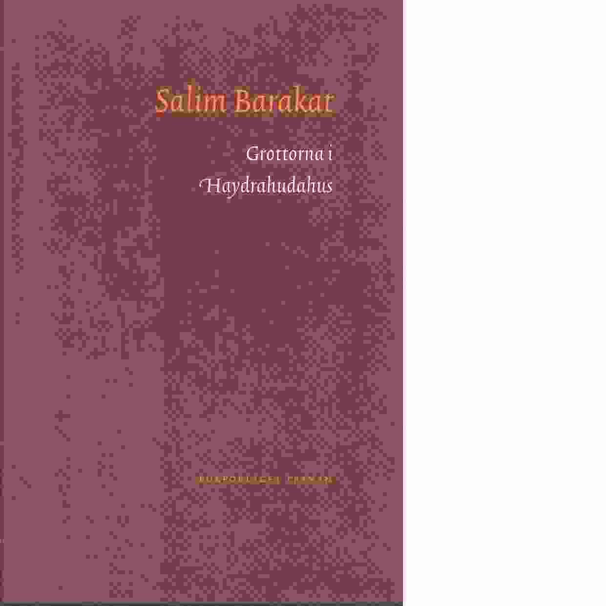 Grottorna i Haydrahudahus - Barakat, Salim