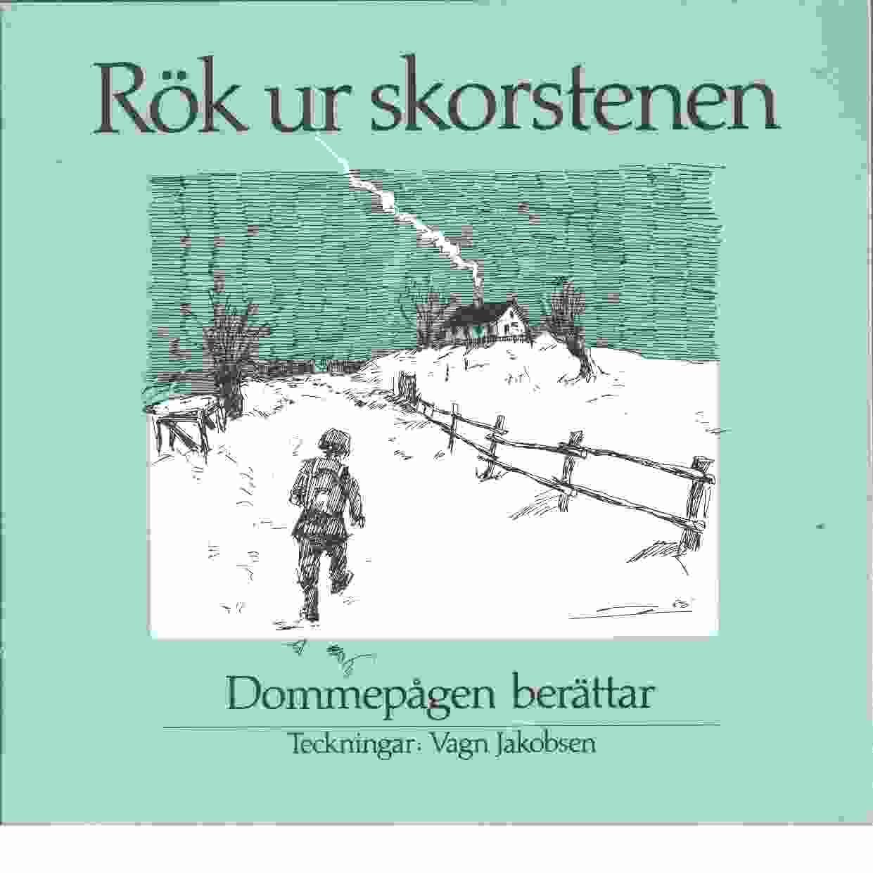 Rök ur skorstenen : Dommepågen berättar - Anvin, Gunnar