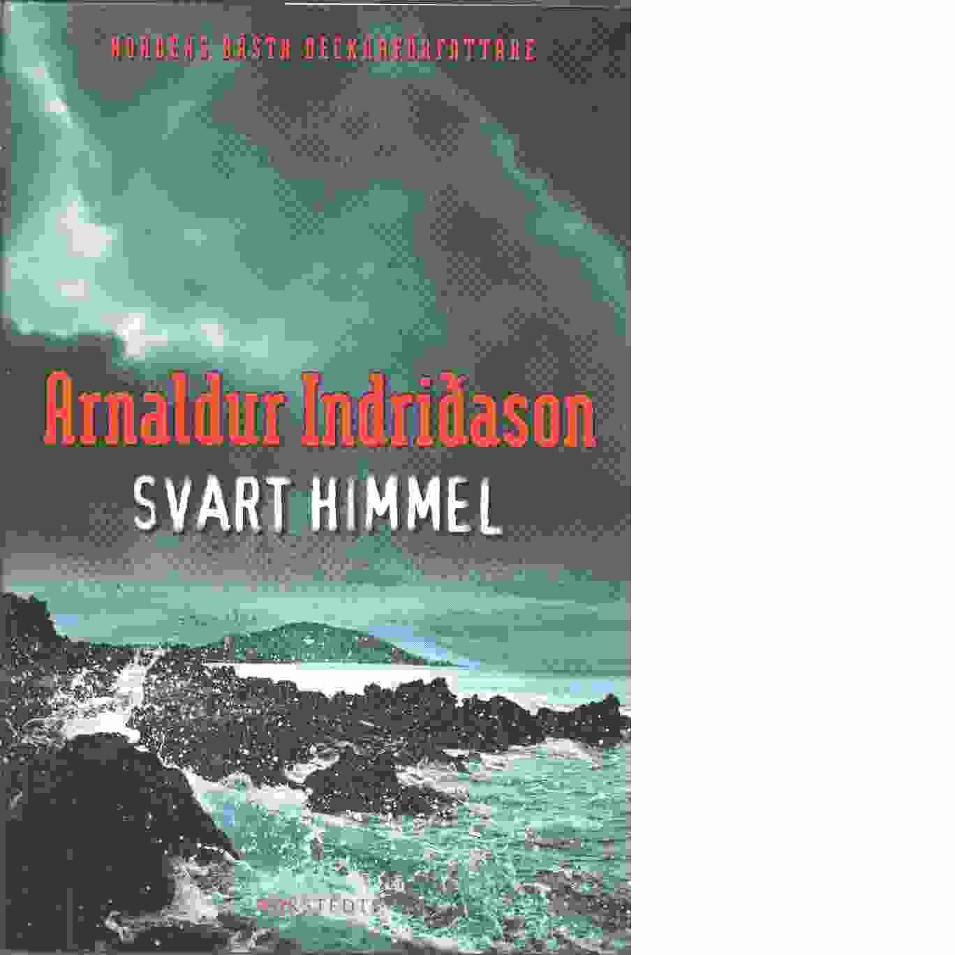 Svart himmel - Indriðason, Arnaldur