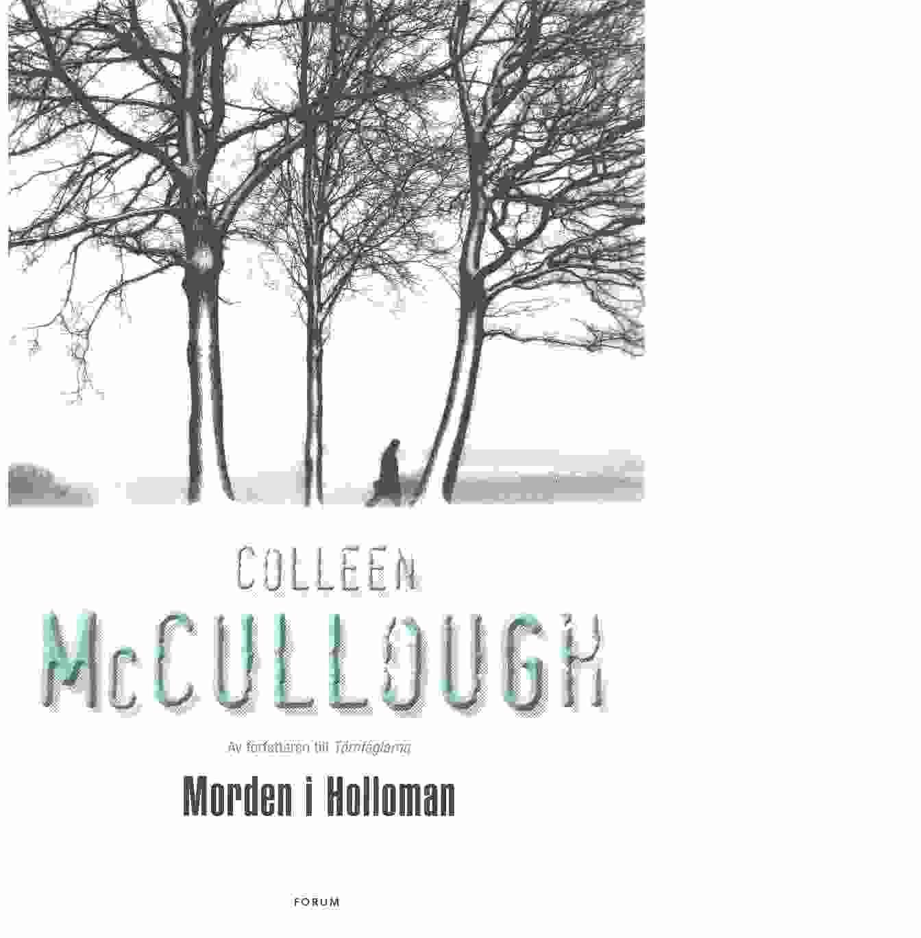 Morden i Holloman - McCullough, Colleen