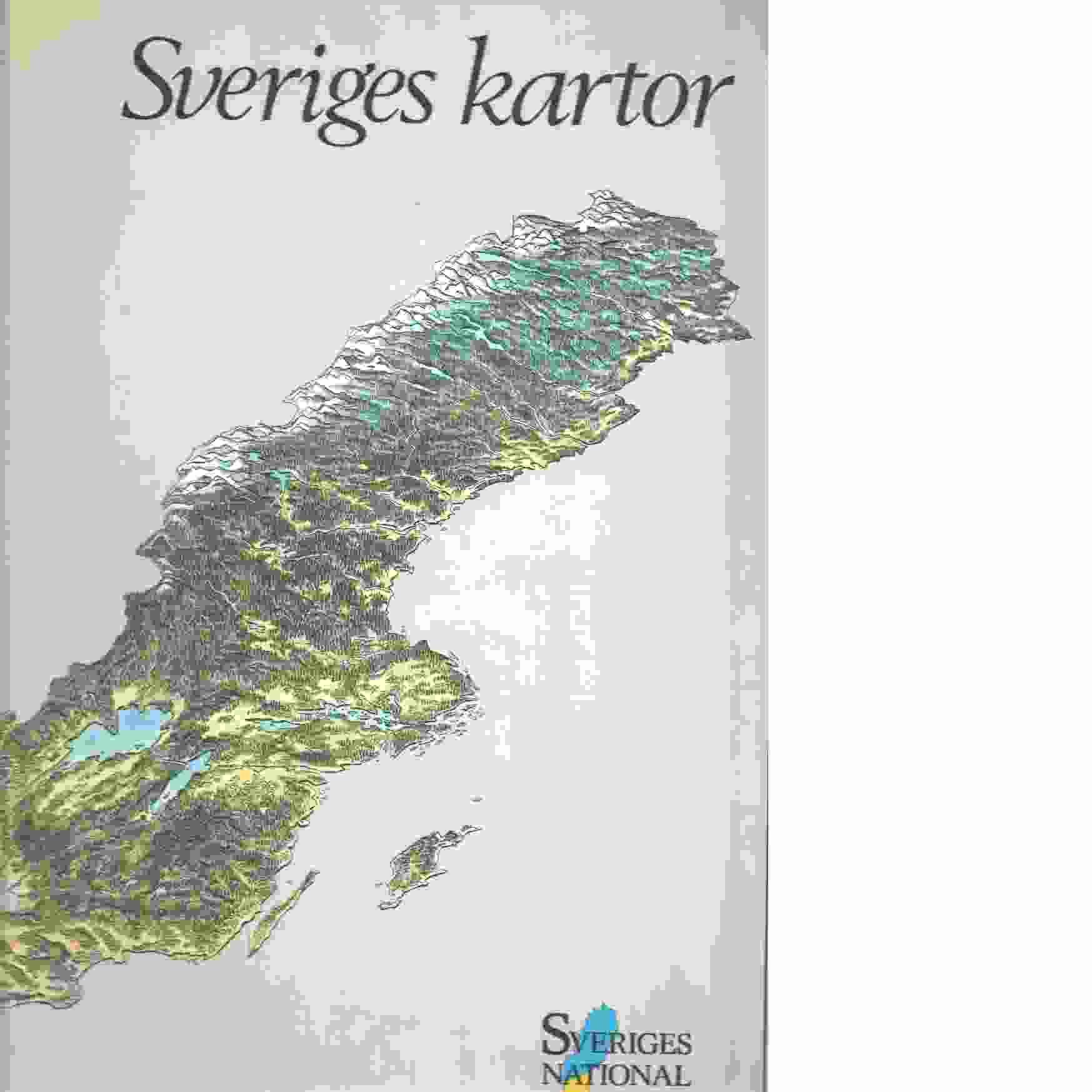 Sveriges kartor Sveriges nationalatlas. - Red.