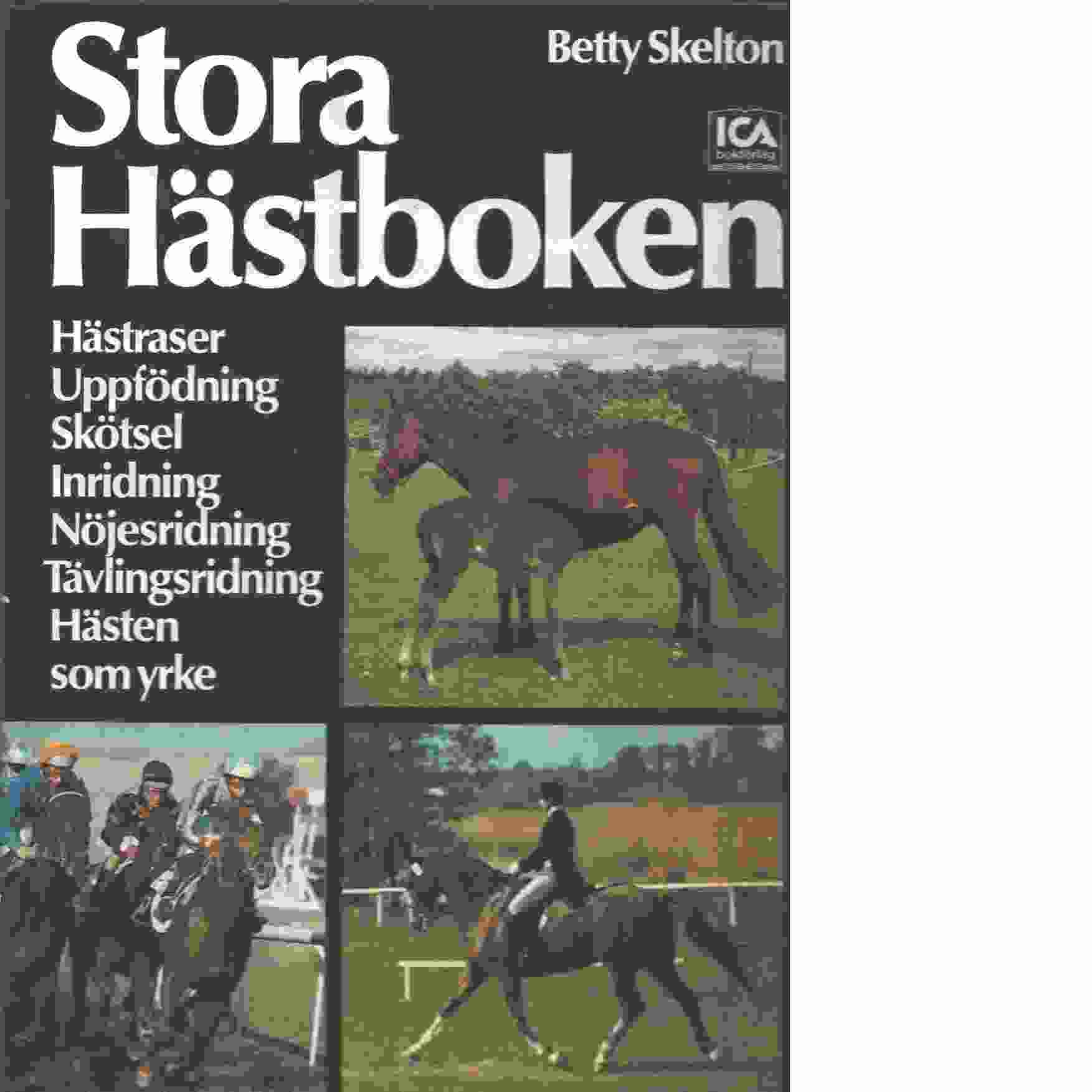 Stora hästboken - Skelton, Betty