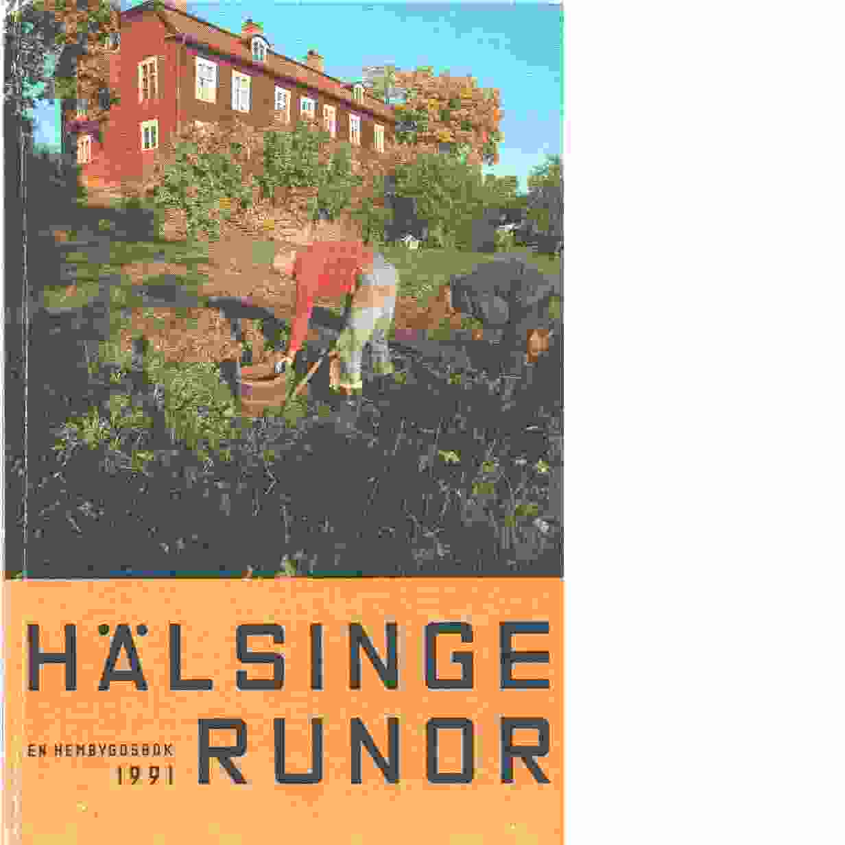 Hälsingerunor 1991 - Red.
