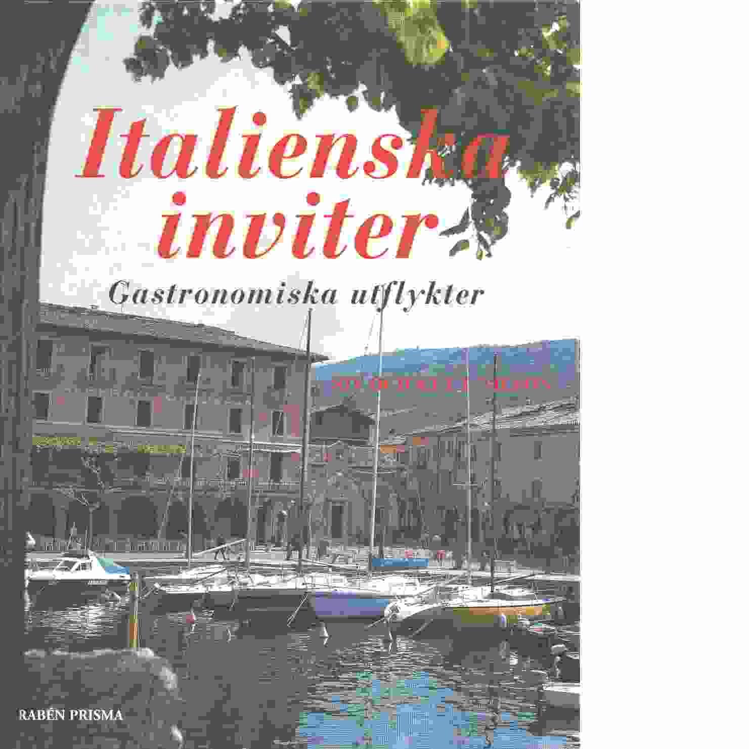 Italienska inviter - Nilson, Siv och Nilson, Key L.
