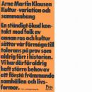 Kultur - variation och sammanhang - Klausen, Arne Martin