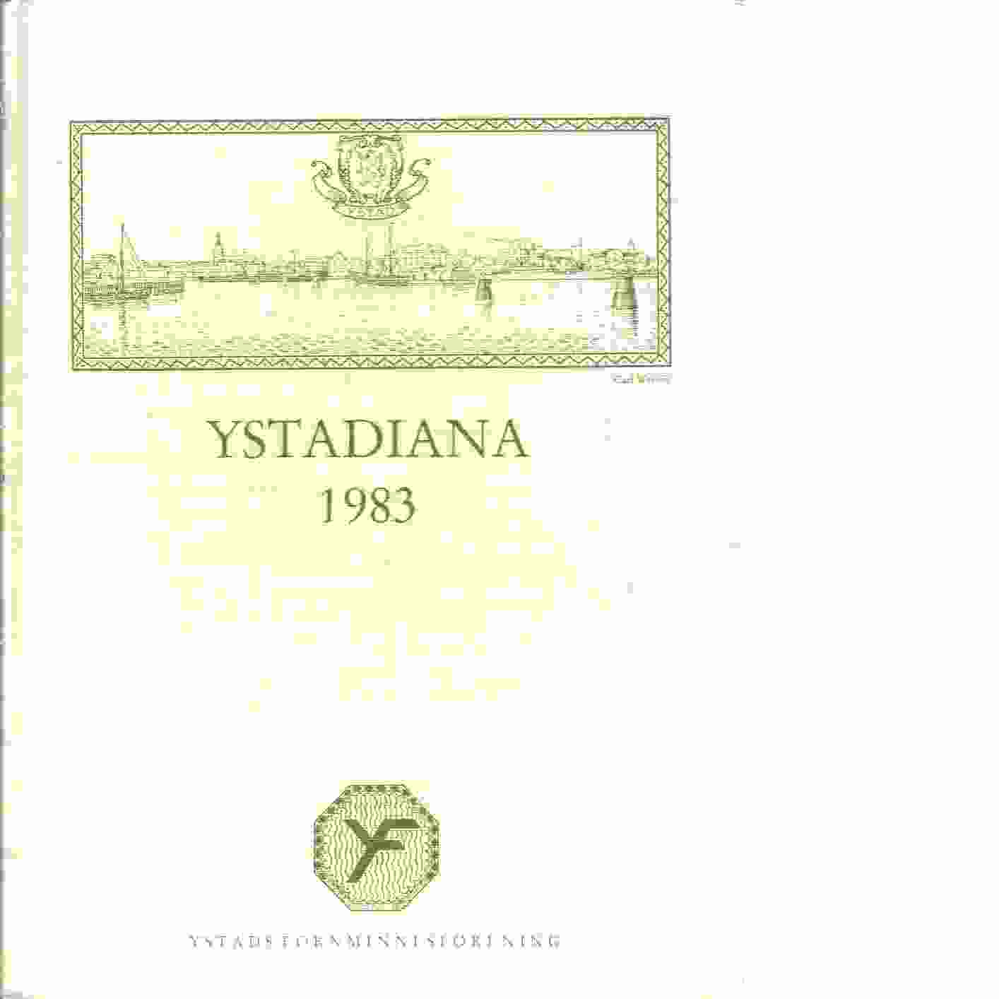 Ystadiana. 1983 - Red.