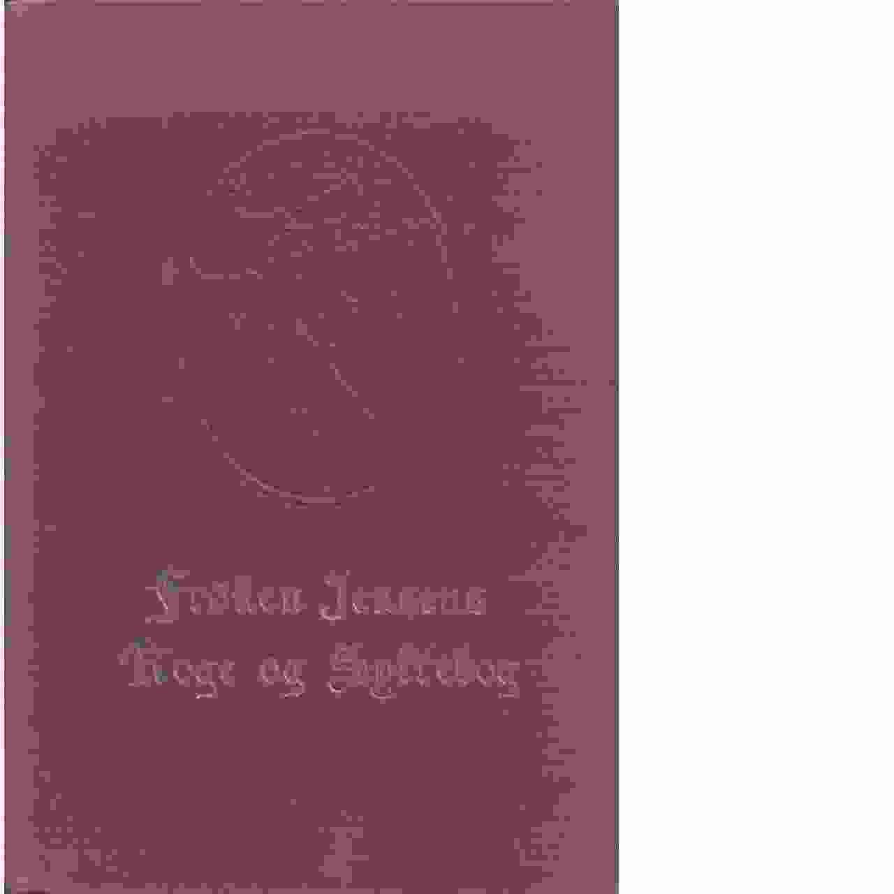 Fröken Jensens Kogeborg - Red.