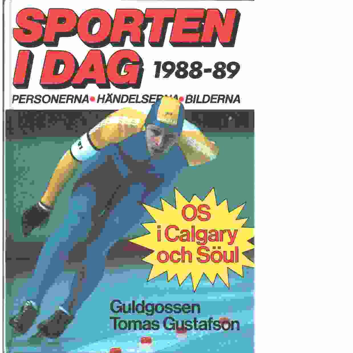Sporten idag  1988-89 - Red,
