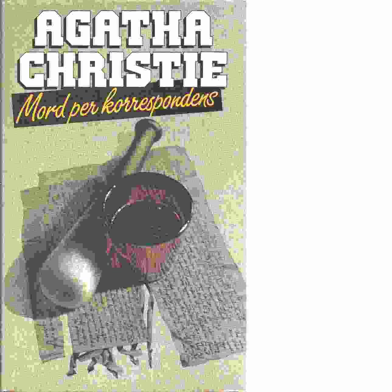 Mord per korrespondens - Christie, Agatha