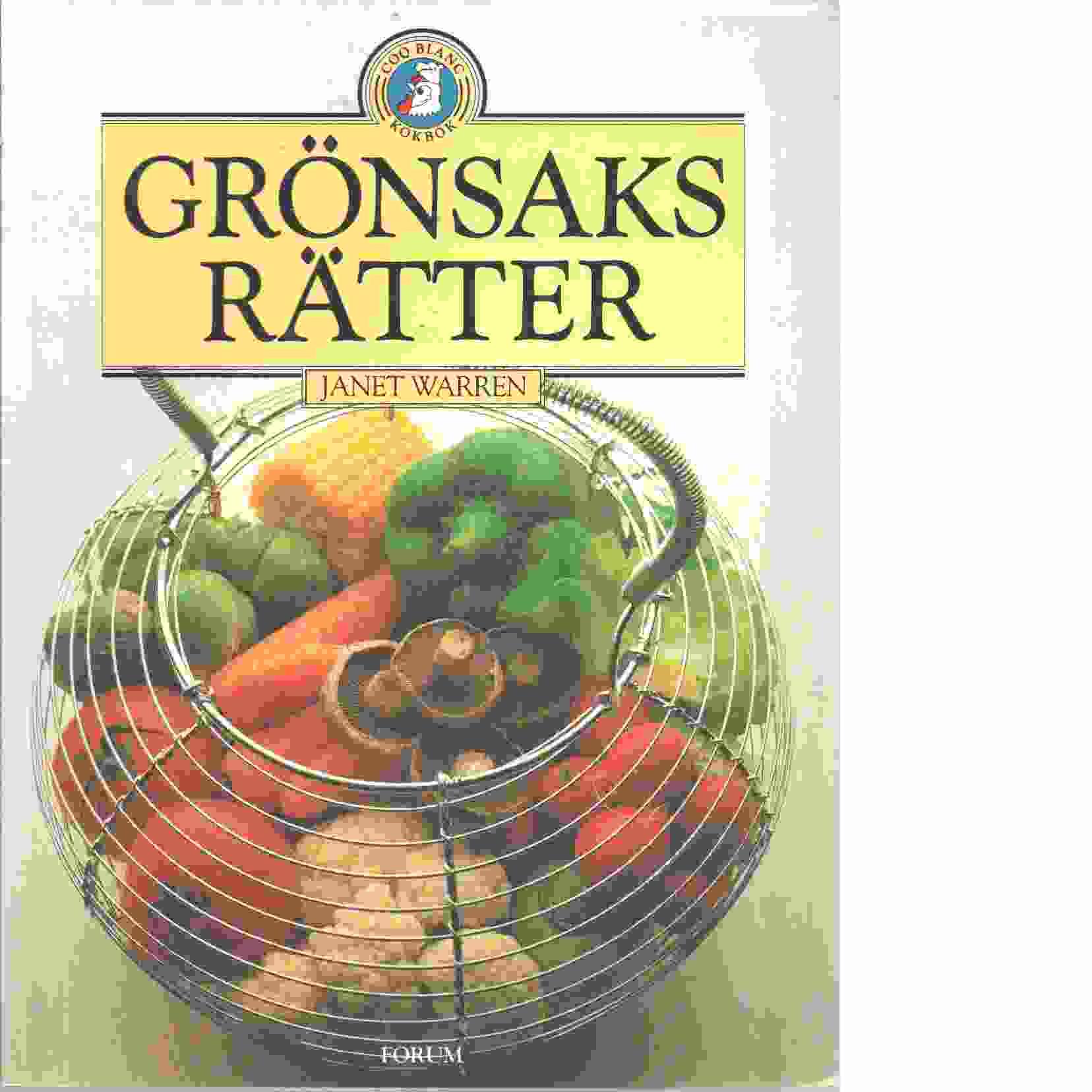 Grönsaksrätter - Warren, Janet