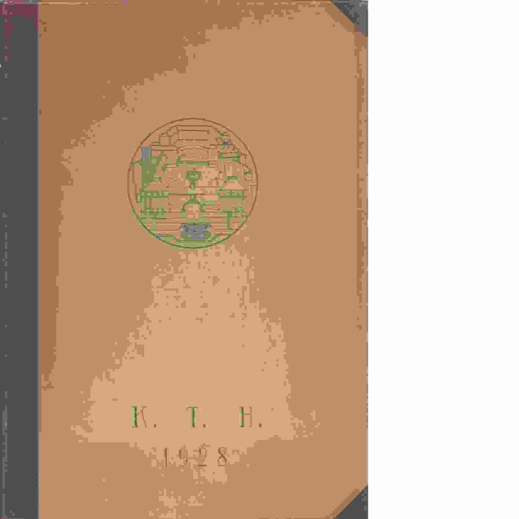 Fyrans album : 1928 / Kungliga tekniska högskolan - Red.