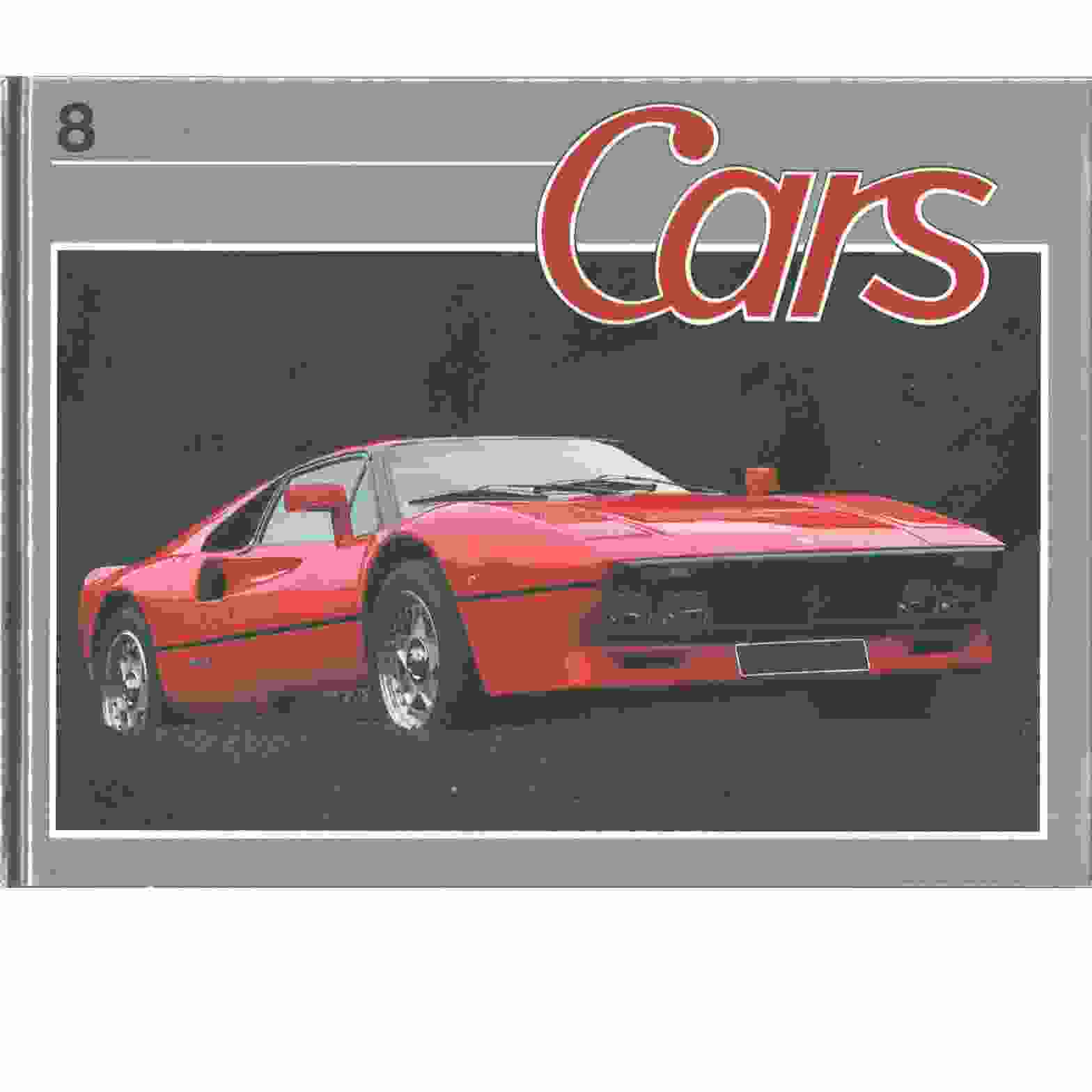 Cars. 8 - Red. Borgenstam, Curt