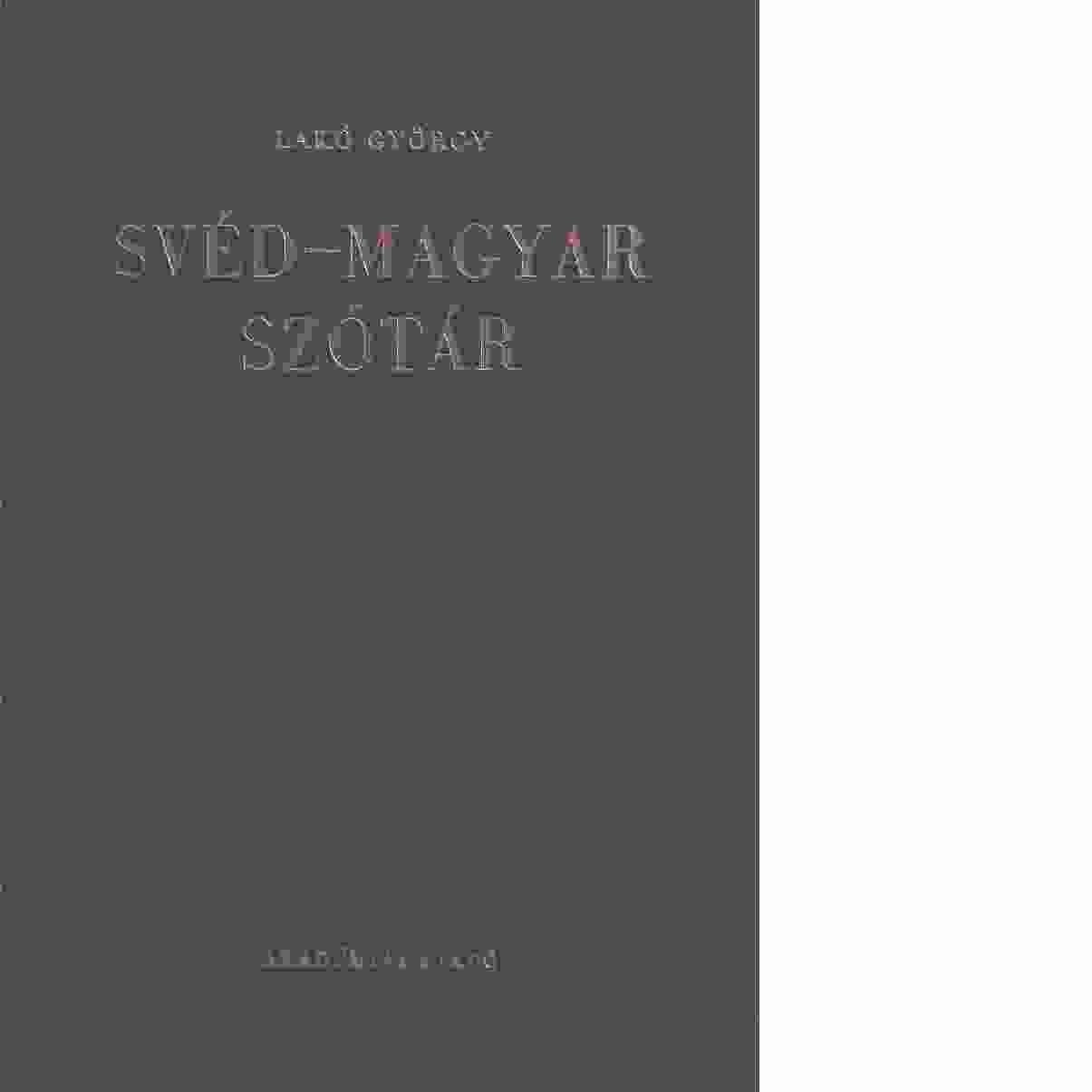 svensk ungersk lexikon