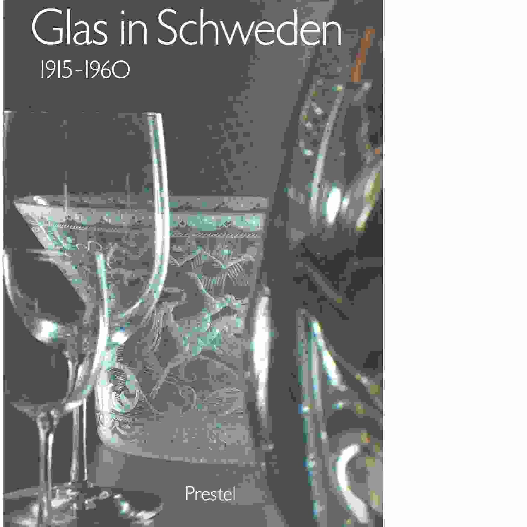 Glas in Schweden : 1915-1960 - Red.