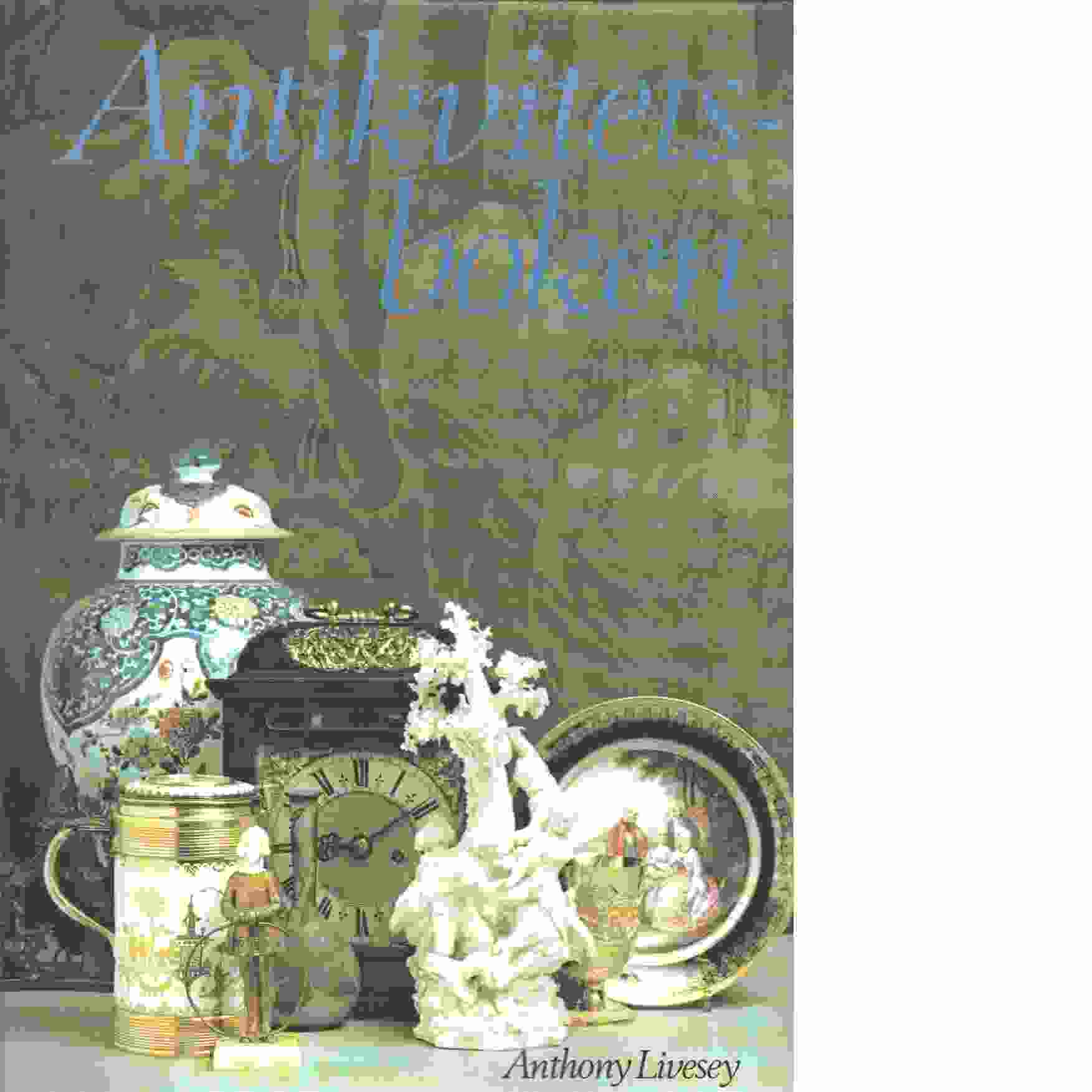 Antikvitetsboken - Livesey, Anthony