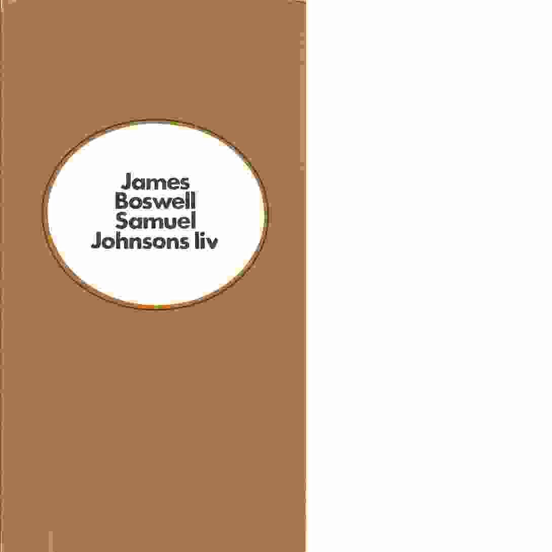 Samuel Johnsons liv - Boswell, James