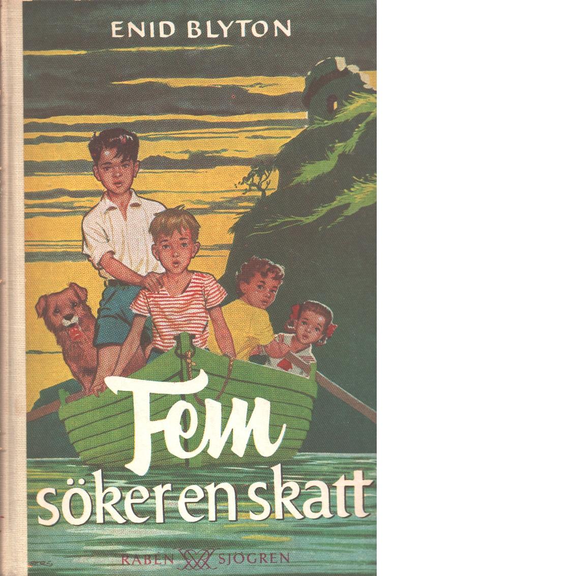 Fem söker en skatt - Blyton, Enid