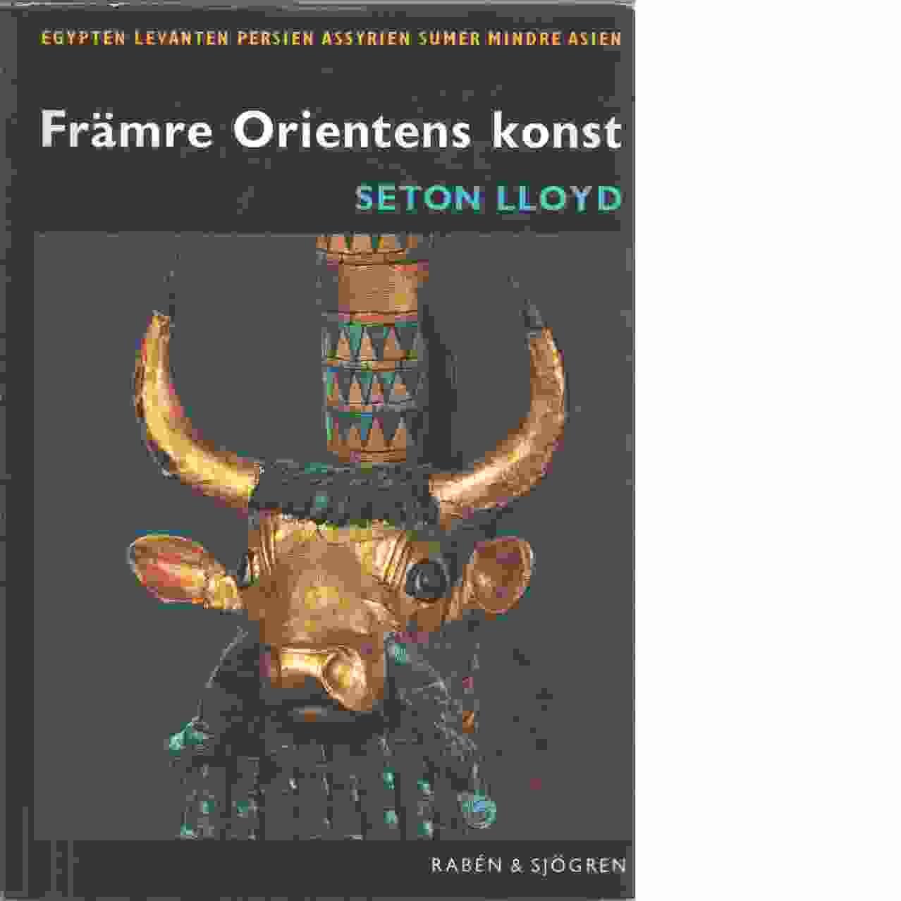 Främre Orientens konst - Lloyd, Seton