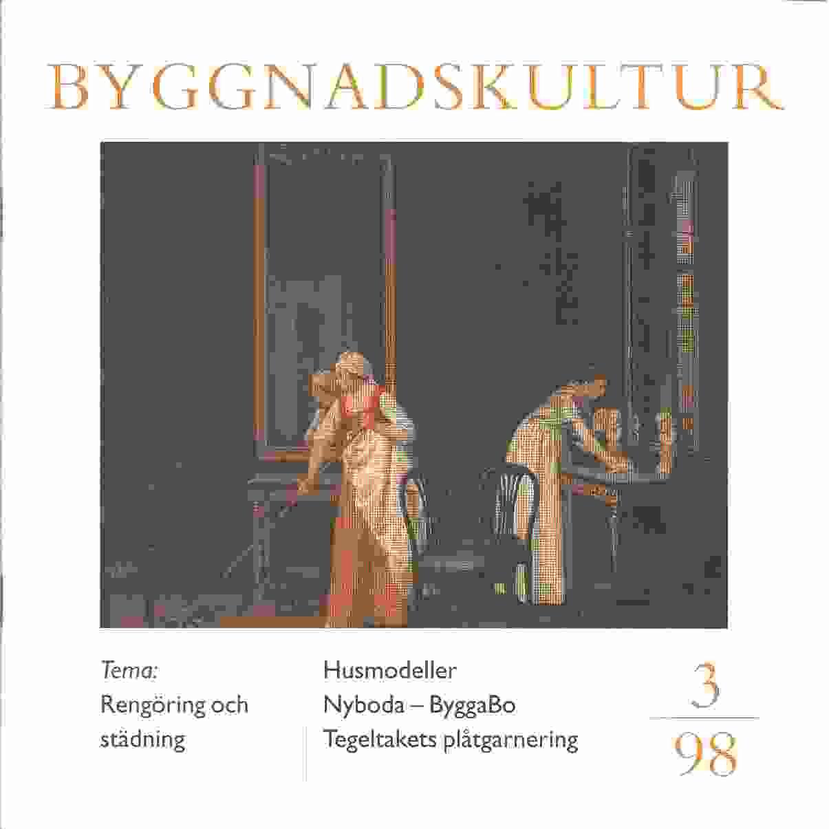 Byggnadskultur 3 : meddelande från Svenska föreningen för byggnadsvård - Red.